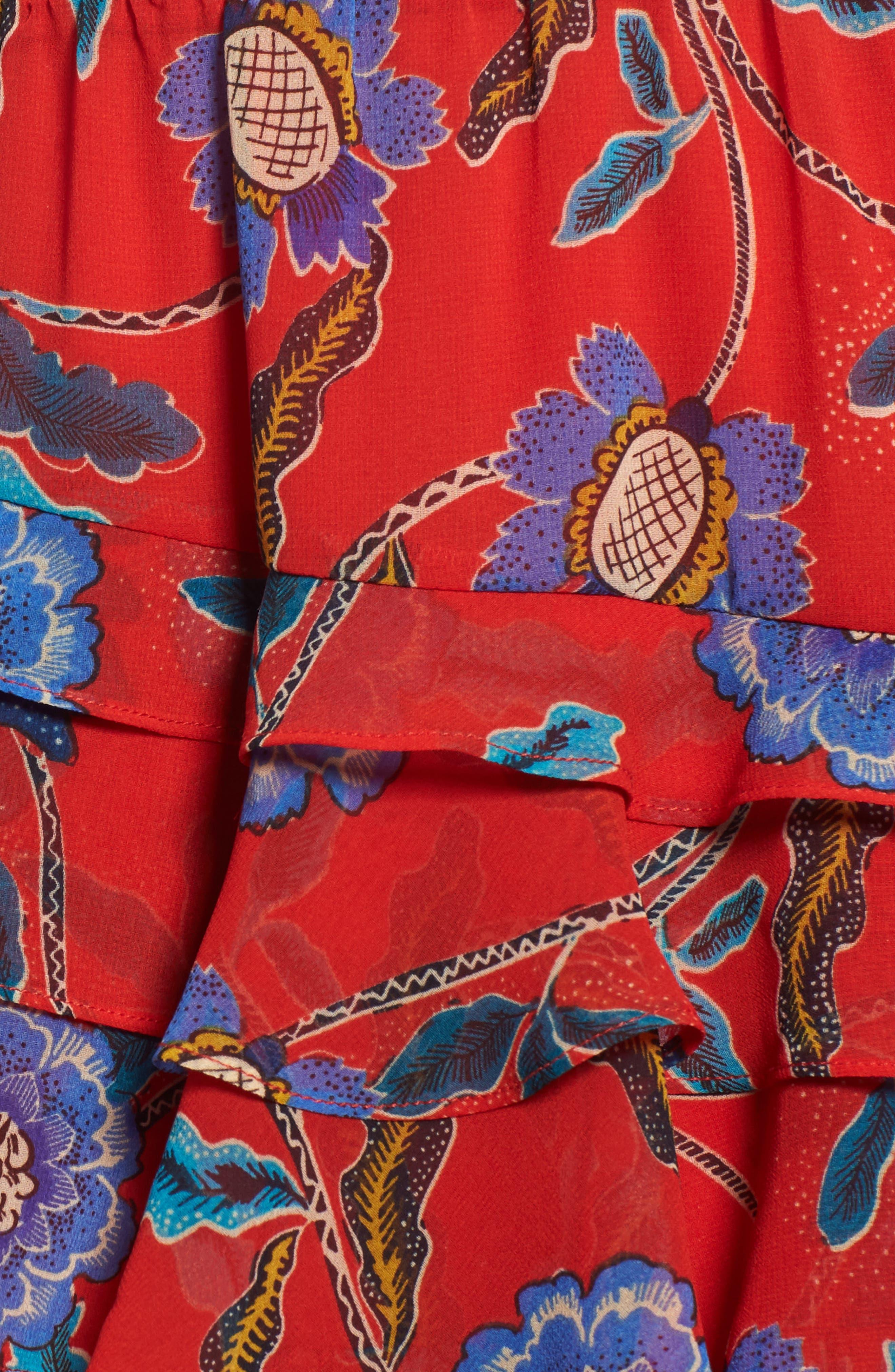 Lila Skirt,                             Alternate thumbnail 5, color,                             607