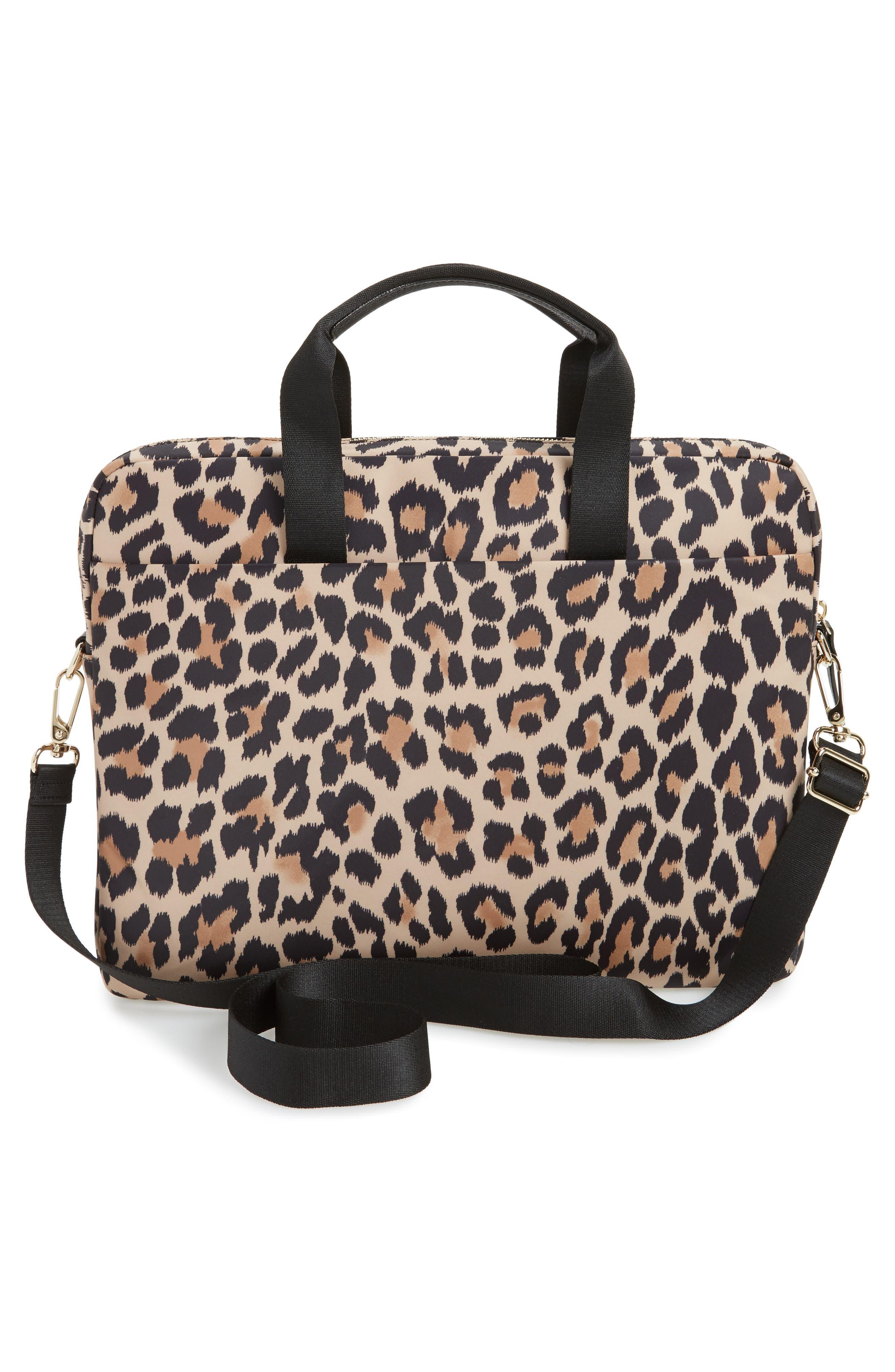 leopard commuter bag,                             Alternate thumbnail 2, color,