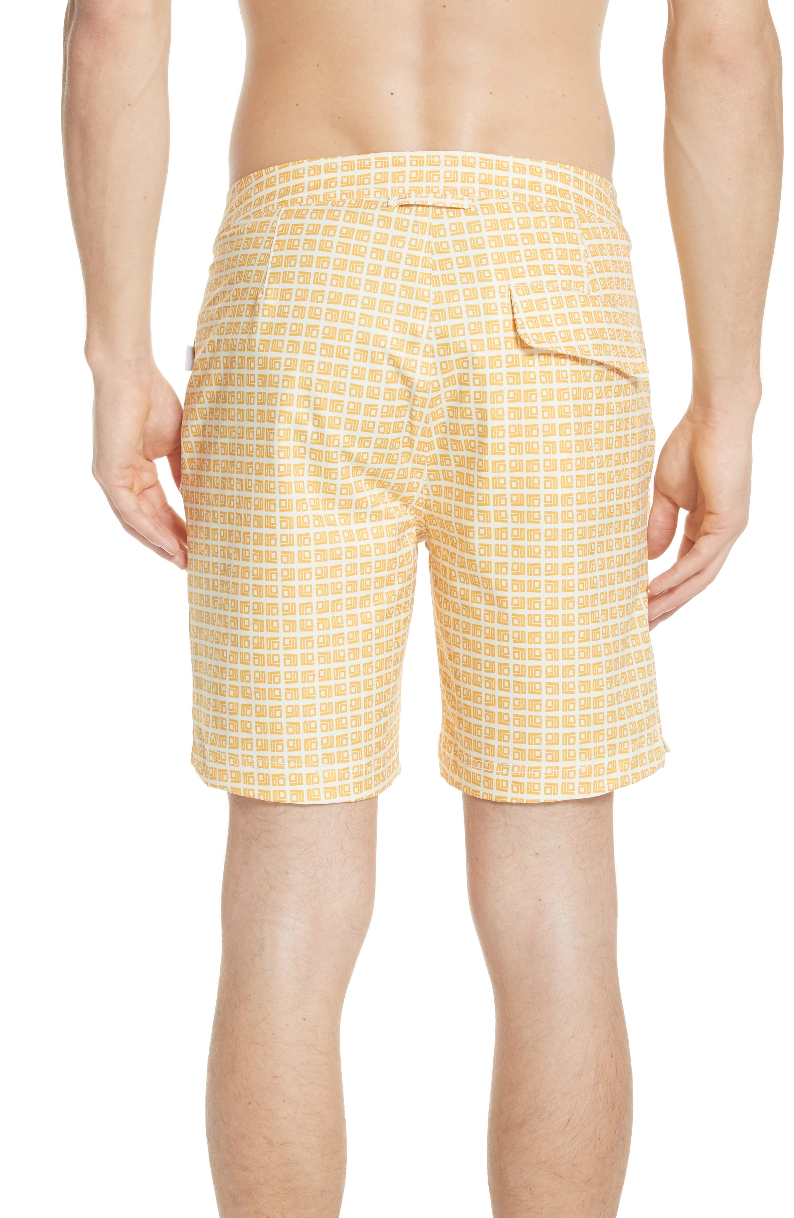 ONIA,                             Calder Square Print Swim Trunks,                             Alternate thumbnail 2, color,                             752