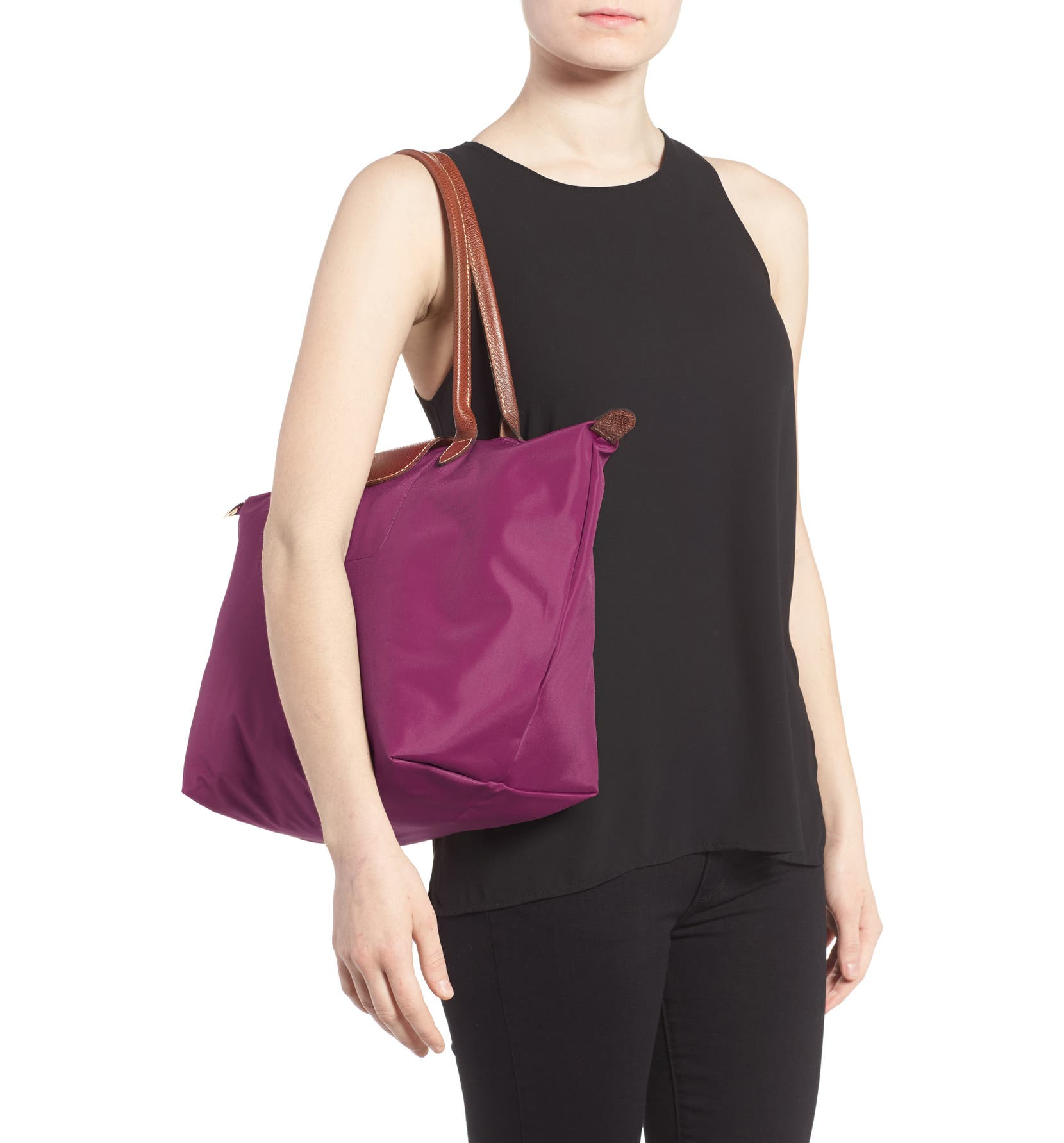 Longchamp Large Le Pliage Tote Nordstrom Lc030 Longchample Medium The City