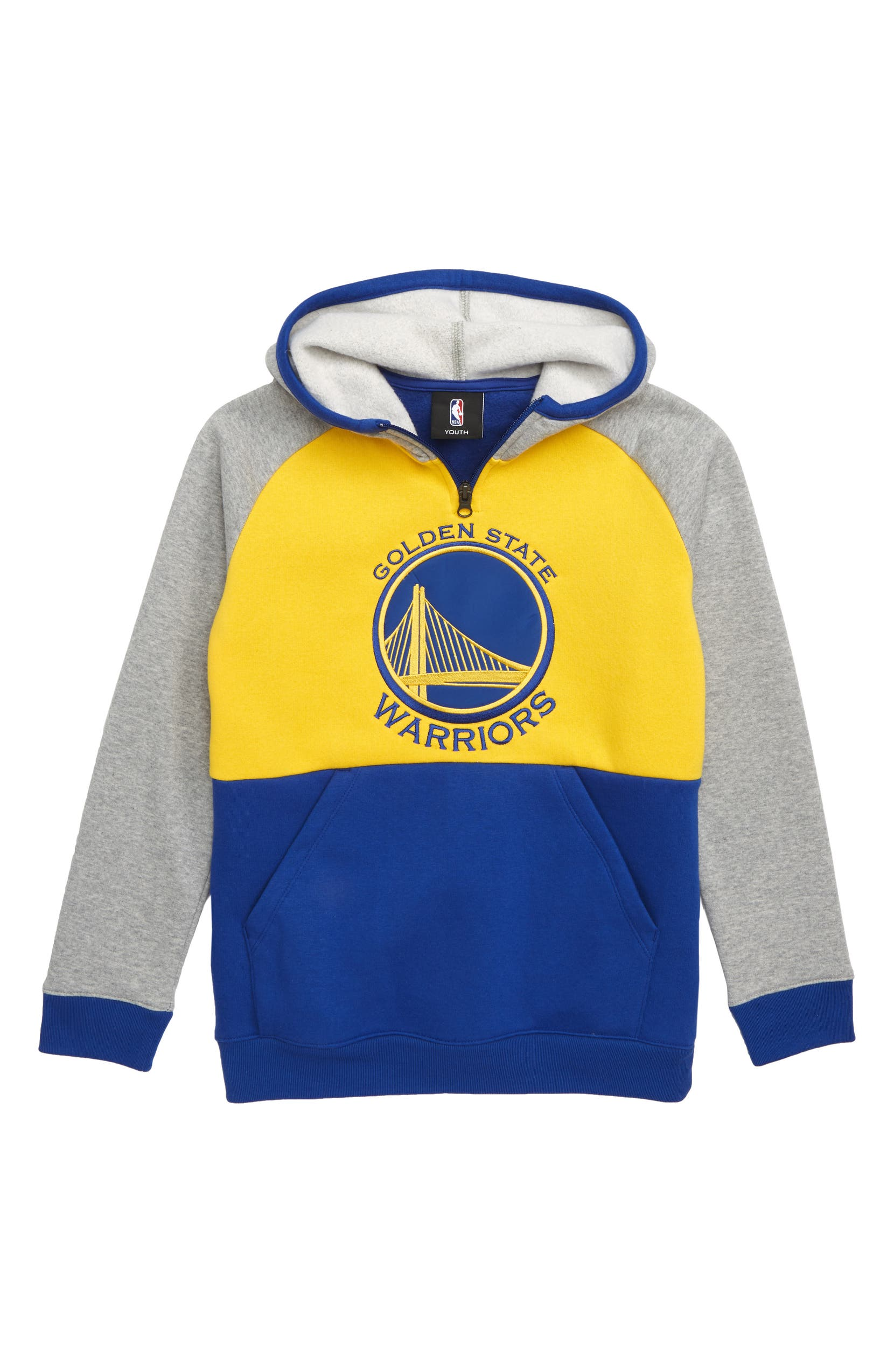 4286c5b50be NBA Logo Golden State Warriors Regulator Hoodie (Big Boys)