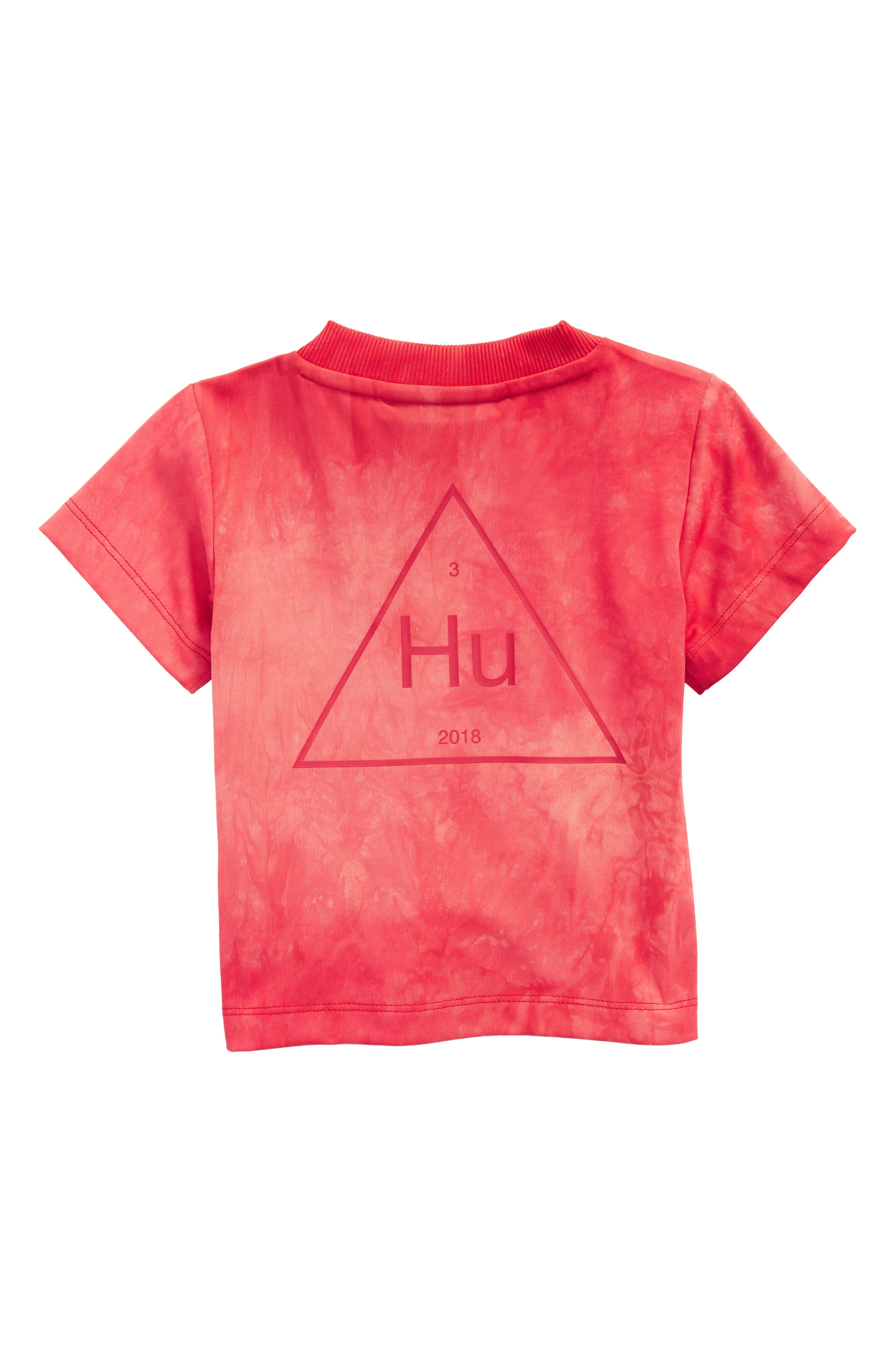 Hu Holi Tee,                             Alternate thumbnail 2, color,                             SCARLET / WHITE