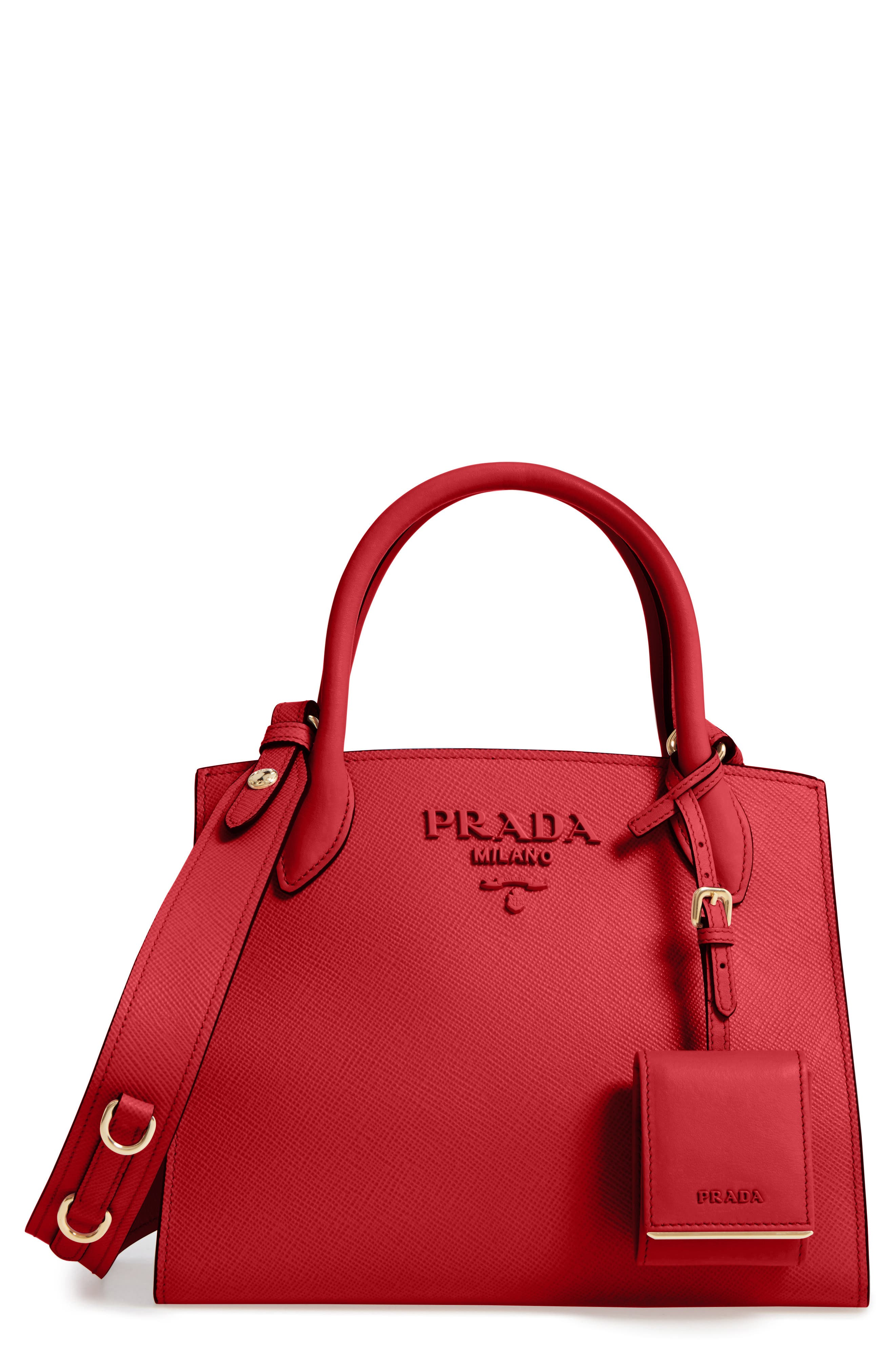 The perfect red bag