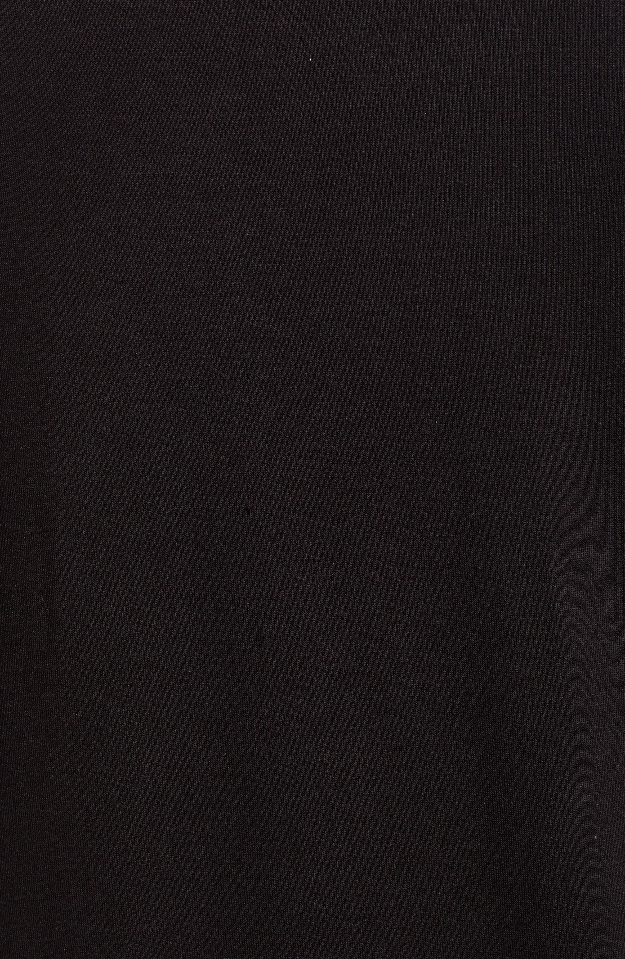 Bow Trim Sweatshirt,                             Alternate thumbnail 5, color,                             001