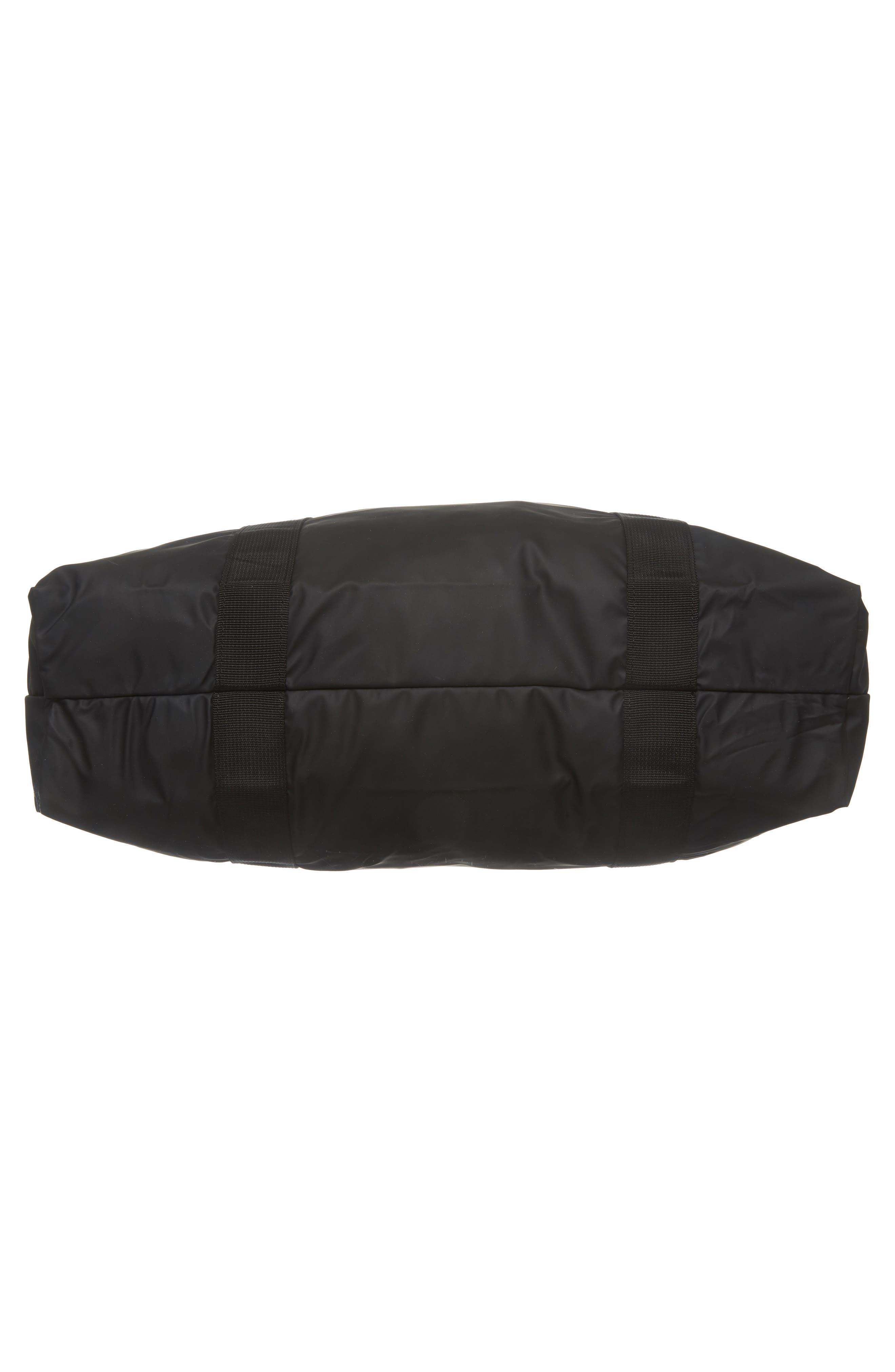 Waterproof Tote Bag,                             Alternate thumbnail 6, color,                             BLACK