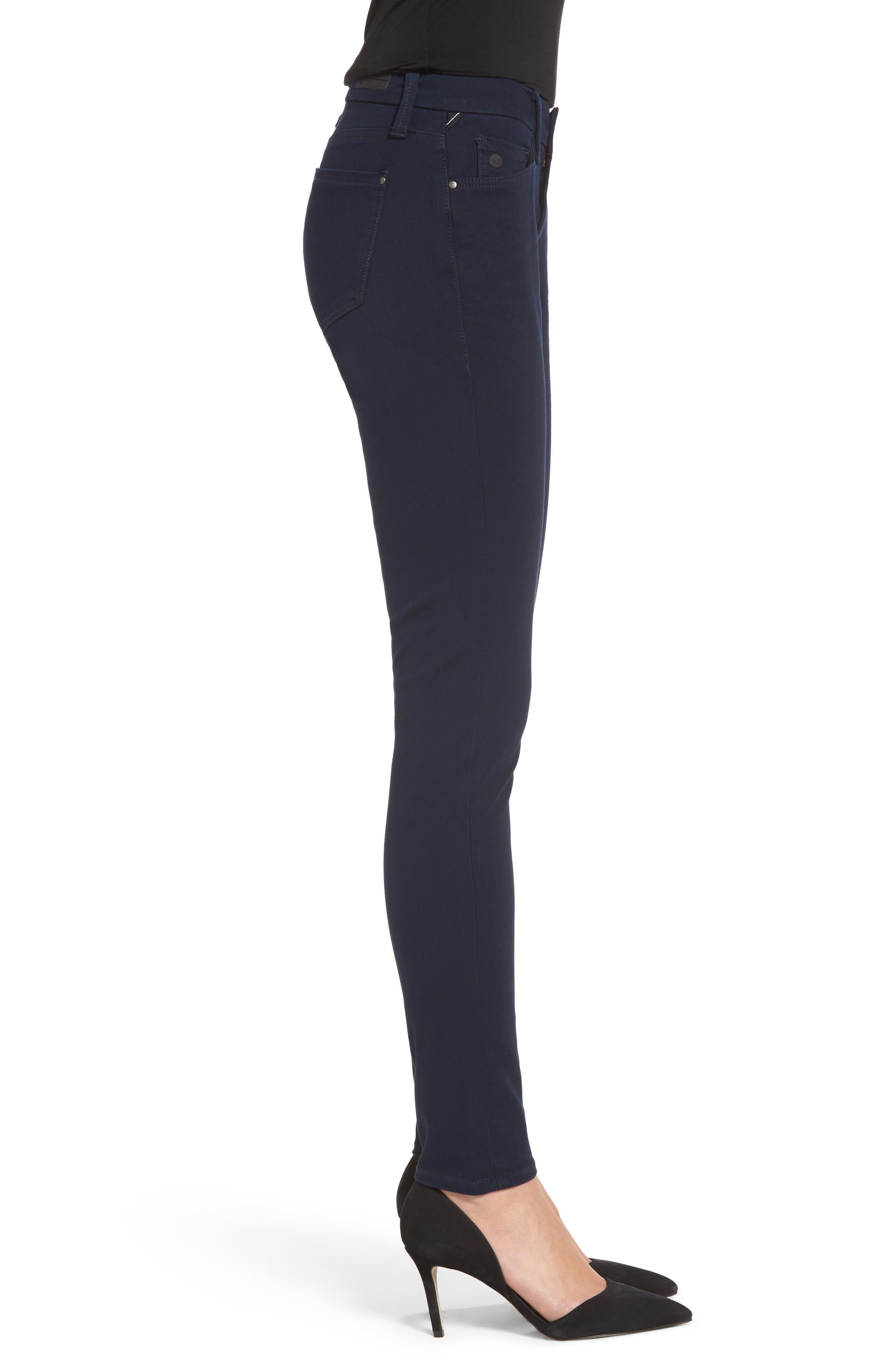 Alexa Stretch Skinny Jeans,                             Alternate thumbnail 3, color,                             401