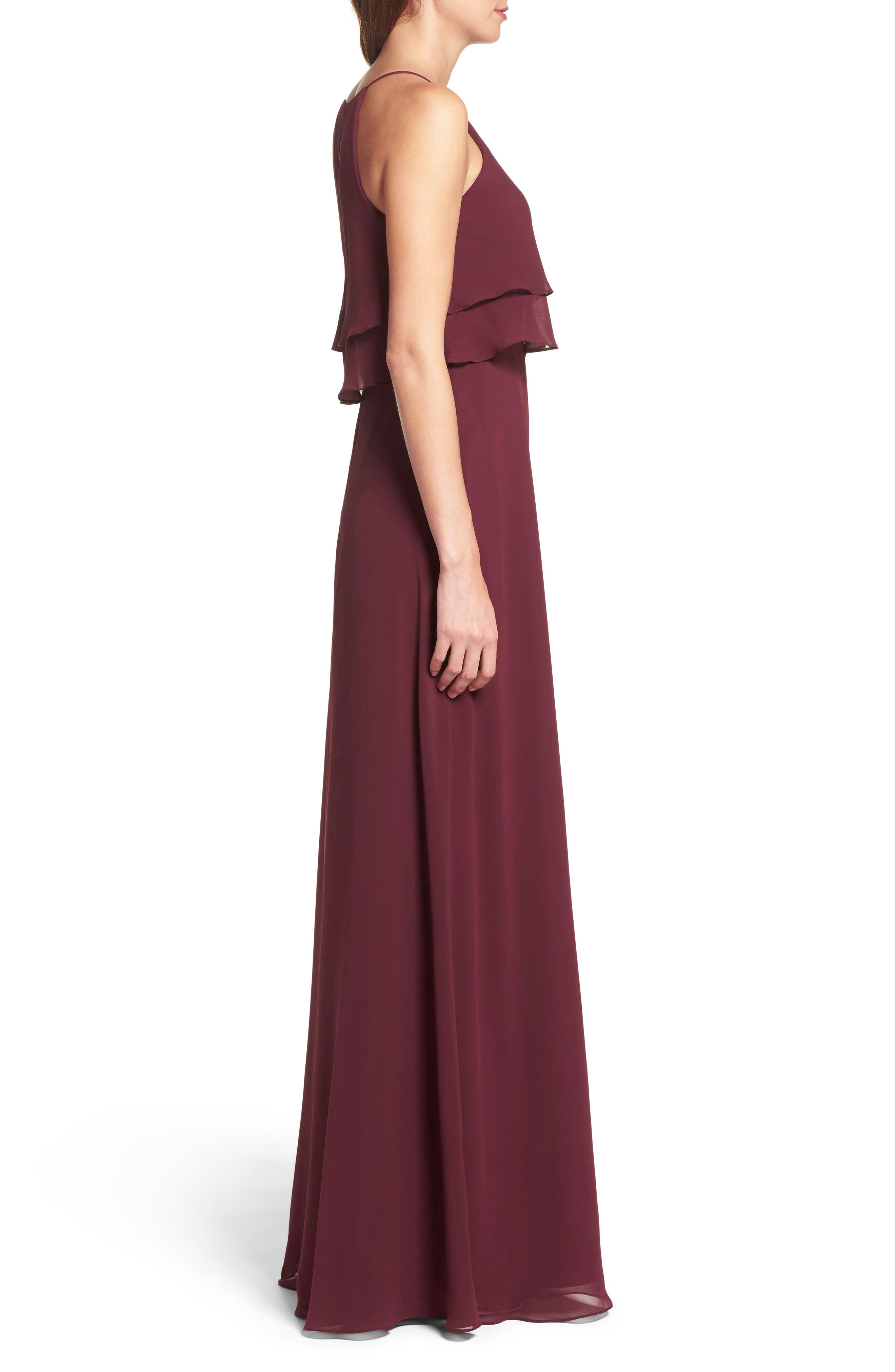 Charlie Ruffle Bodice Gown,                             Alternate thumbnail 26, color,