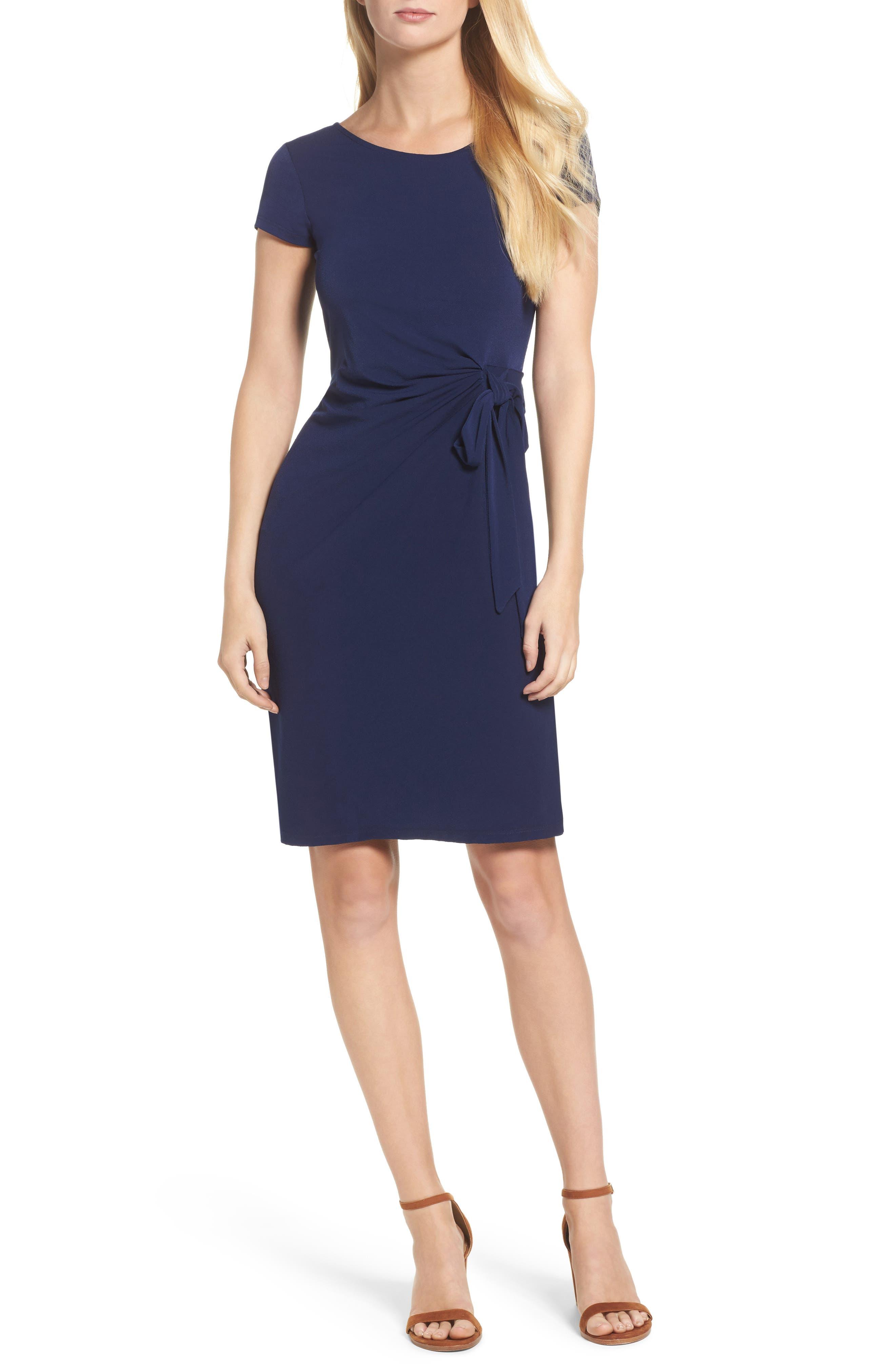 Madison Stretch Sheath Dress,                             Main thumbnail 3, color,