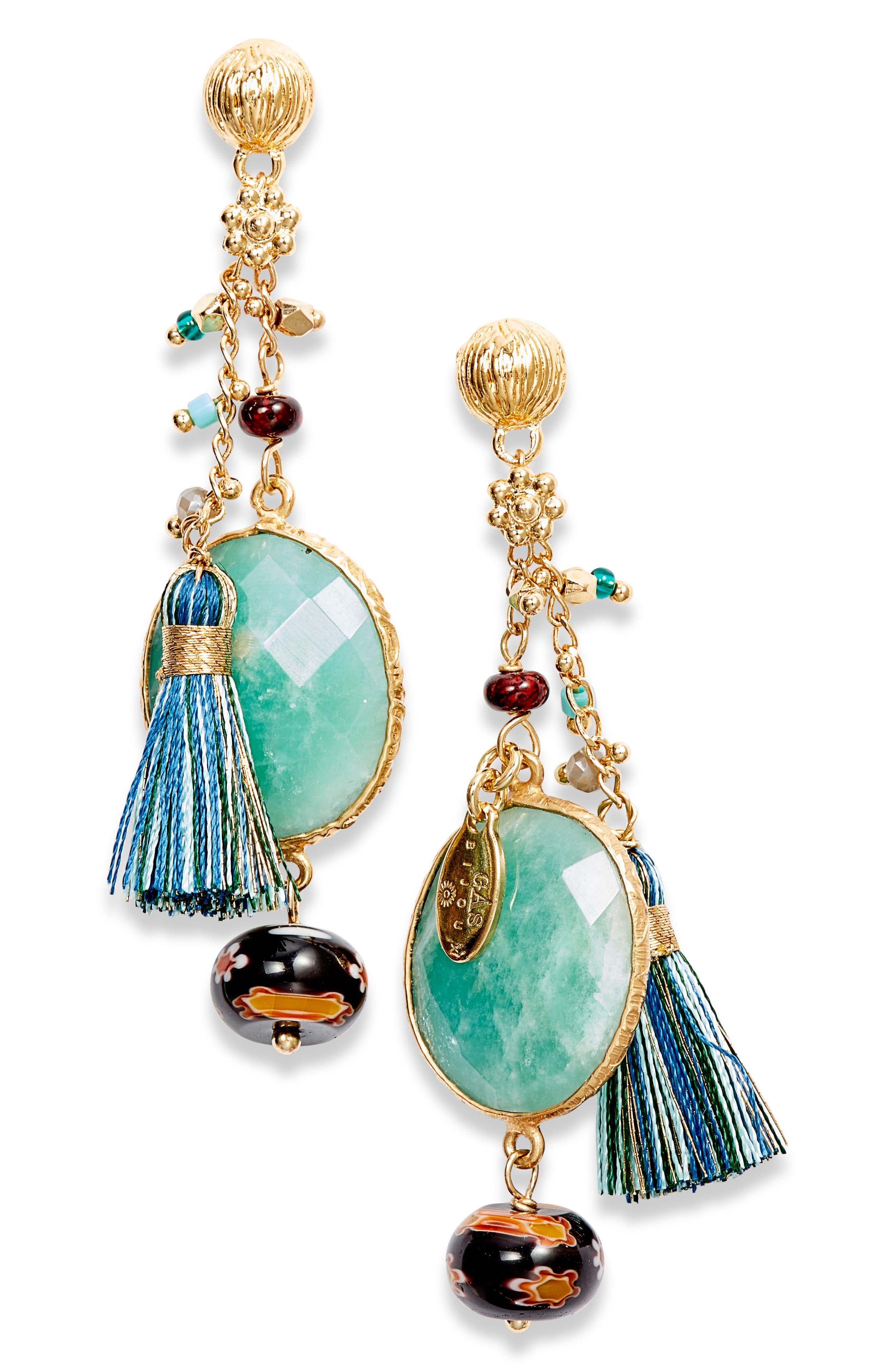 Serti Pondicherie Drop Earrings,                             Main thumbnail 1, color,                             400