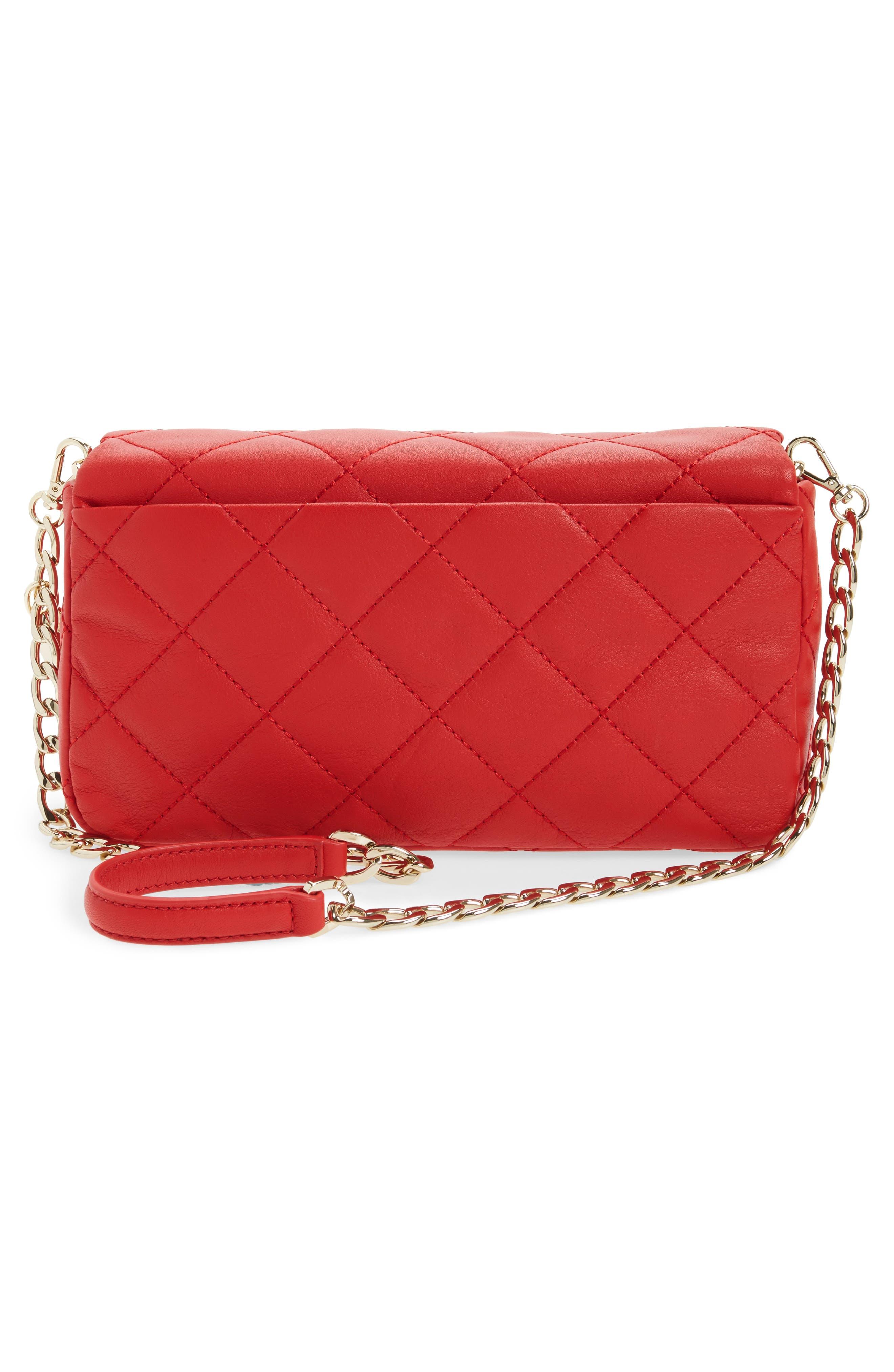 emerson place - serena leather shoulder bag,                             Alternate thumbnail 9, color,