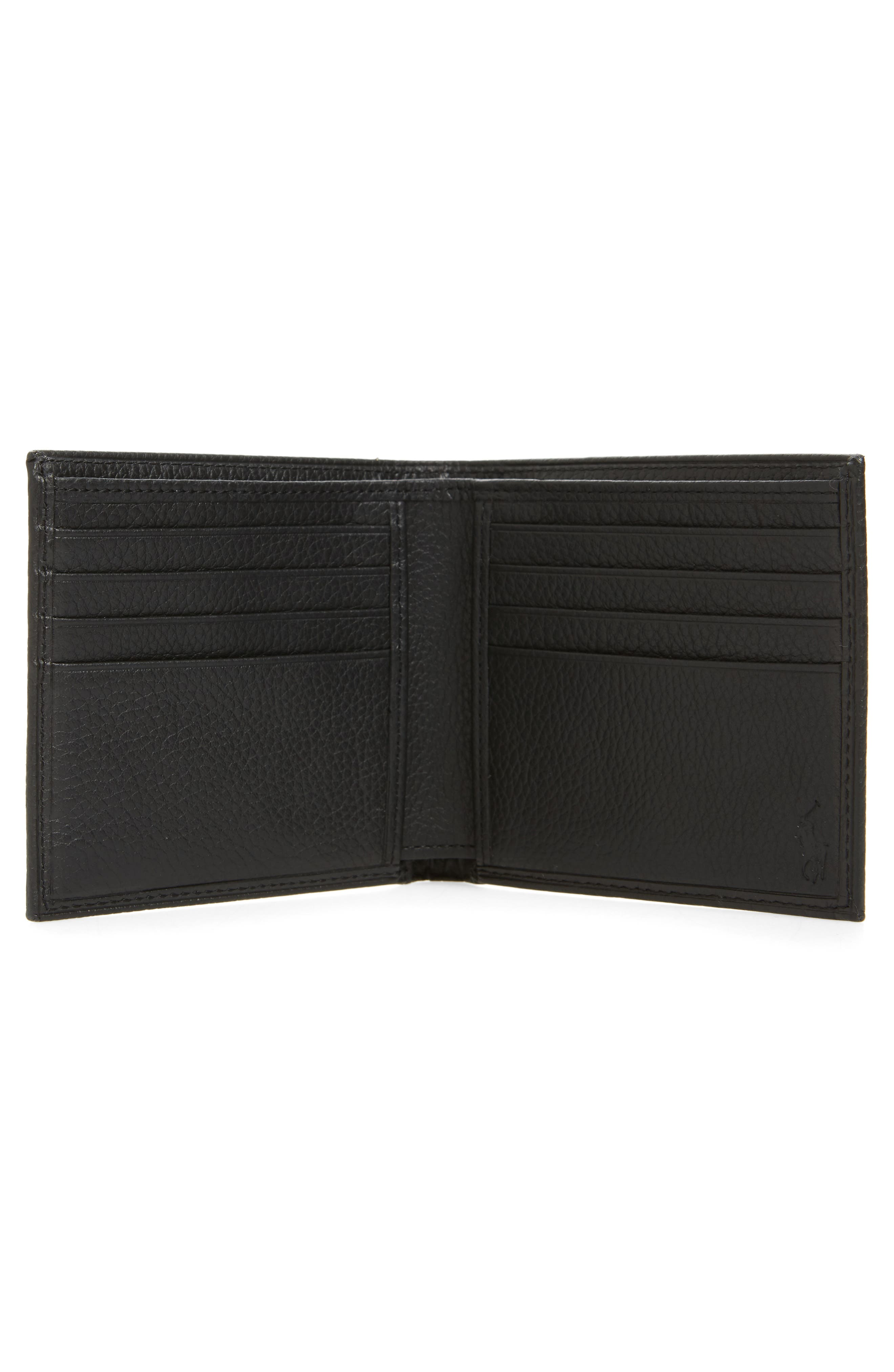 Leather Wallet,                             Alternate thumbnail 5, color,