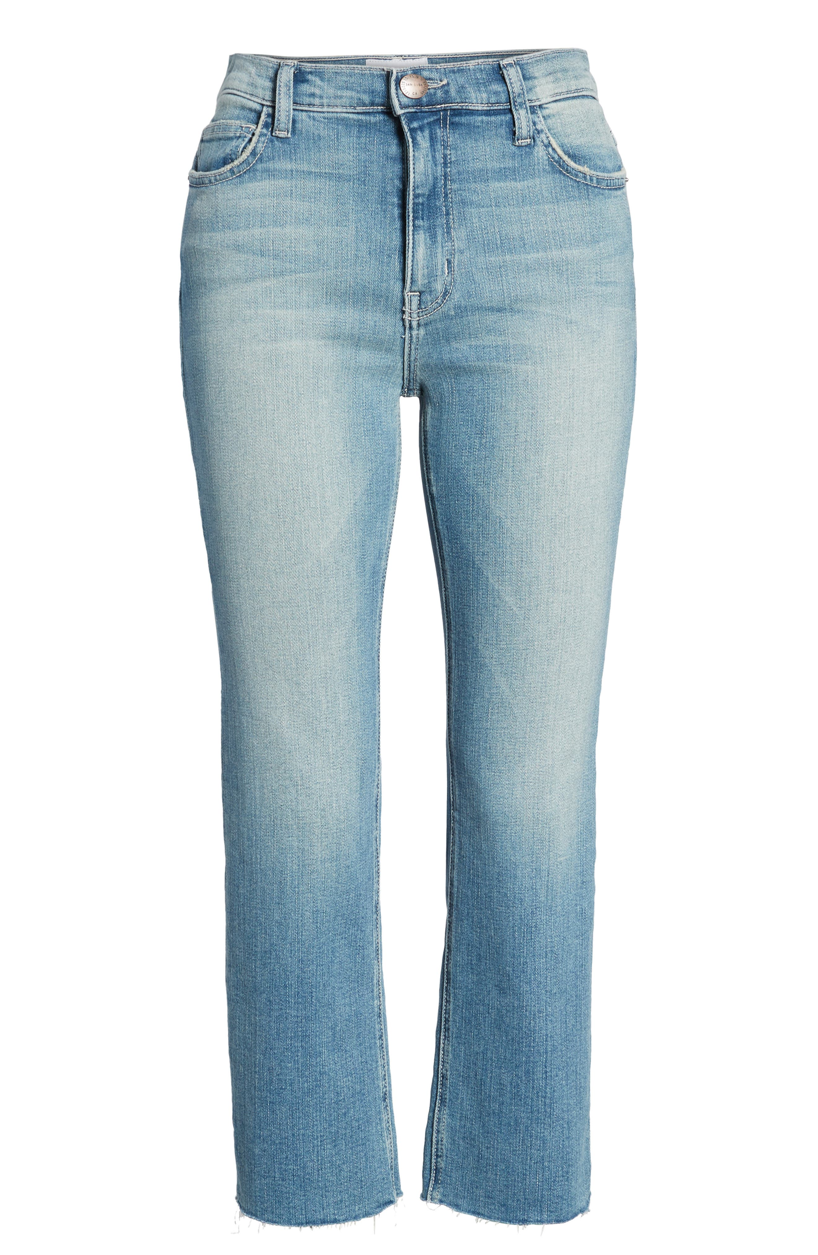 The High Waist Straight Jeans,                             Alternate thumbnail 7, color,                             475