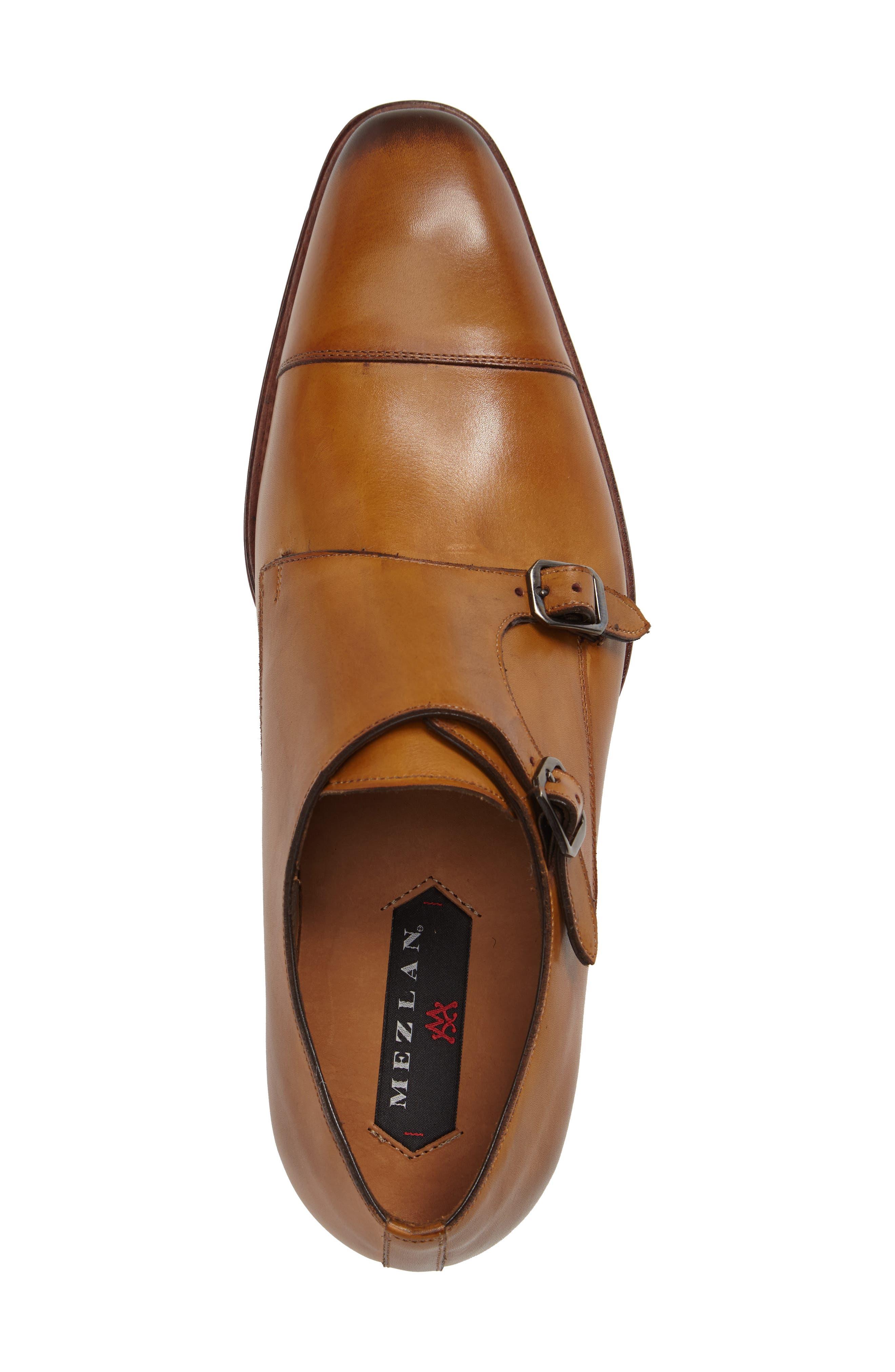 Cajal Double Monk Strap Cap Toe Shoe,                             Alternate thumbnail 12, color,