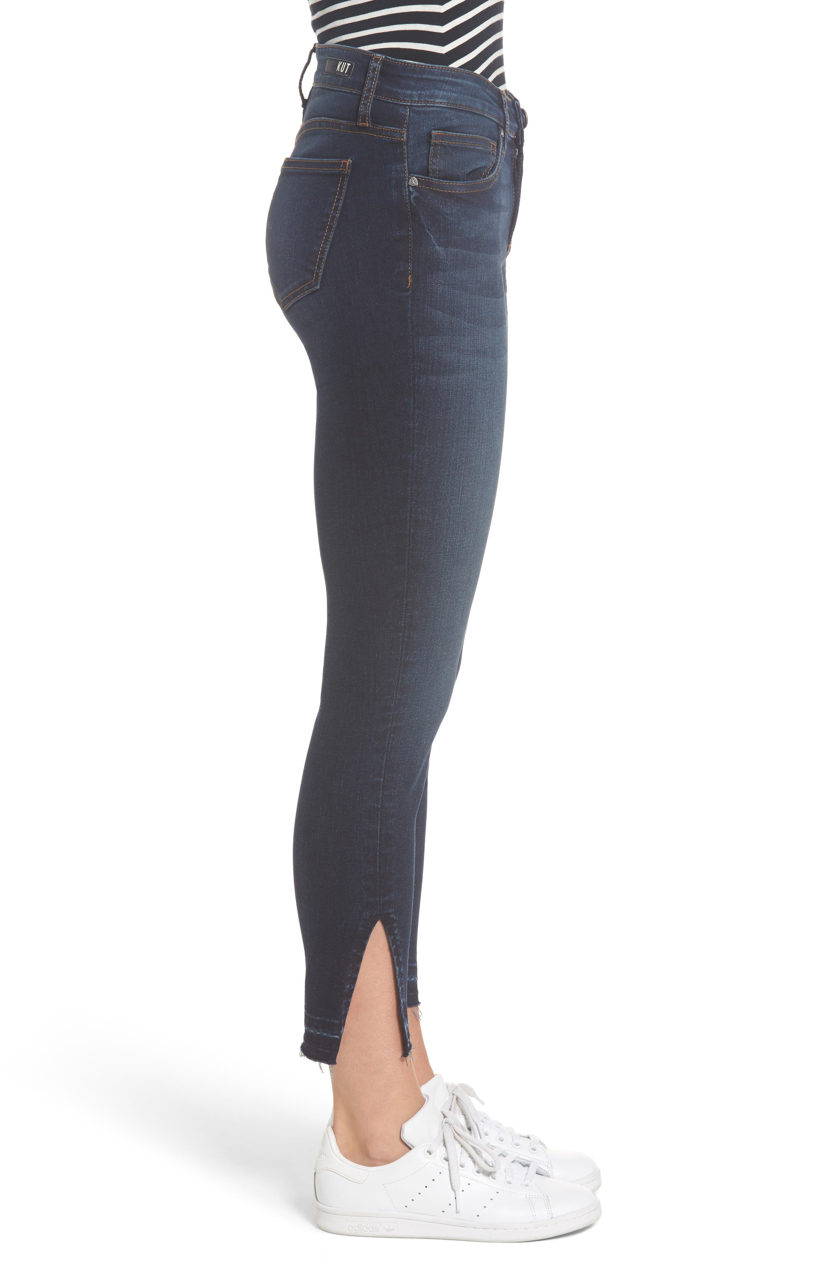 Connie Release Hem Ankle Skinny Jeans,                             Alternate thumbnail 3, color,                             431