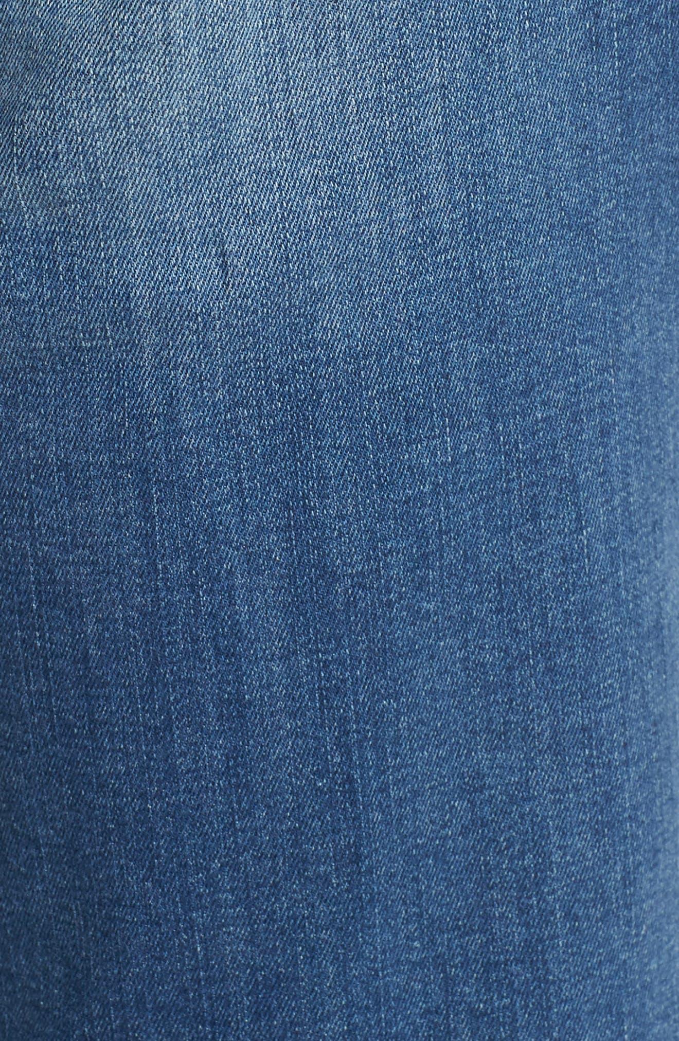 Emma Slim Boyfriend Jeans,                             Alternate thumbnail 6, color,                             INDIGO RIPPED NOLITA