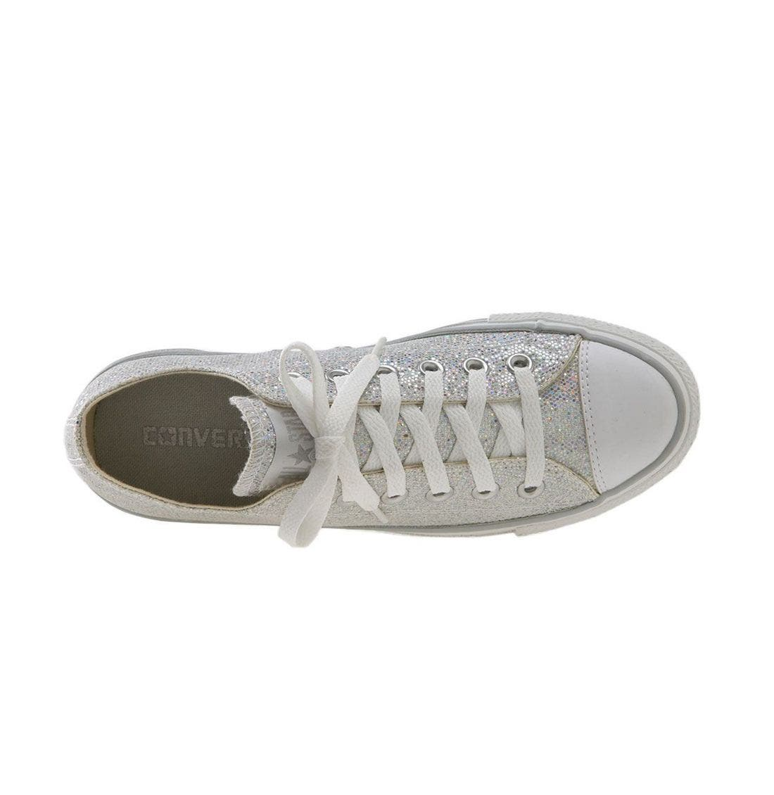 Chuck Taylor<sup>®</sup> Glitter Sneaker,                             Alternate thumbnail 3, color,                             047