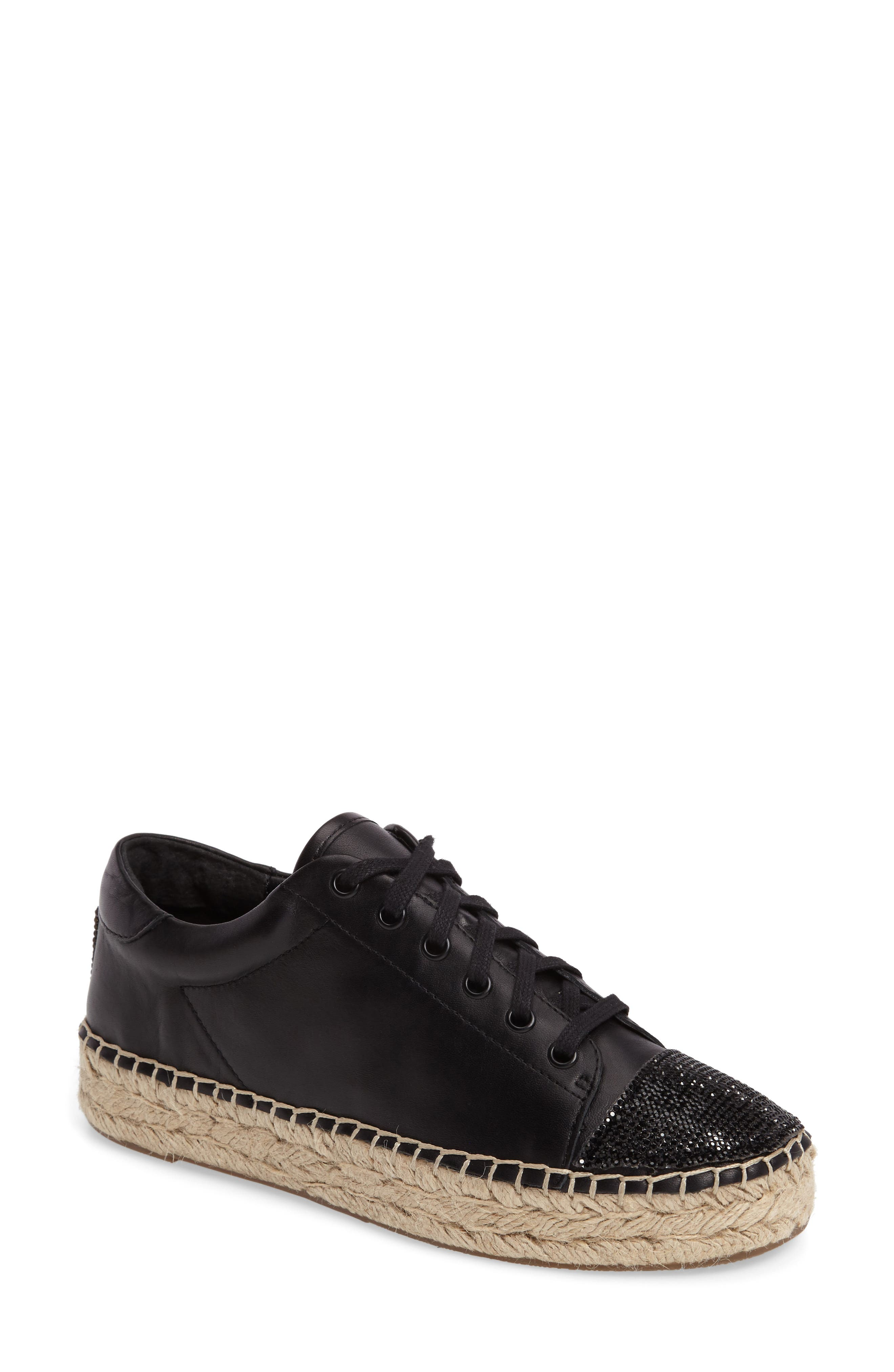 Joslyn Espadrille Sneaker,                             Main thumbnail 1, color,                             001