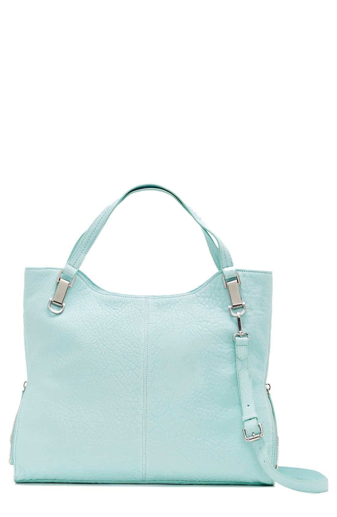 'Riley' Leather Tote,                         Main,                         color, 401