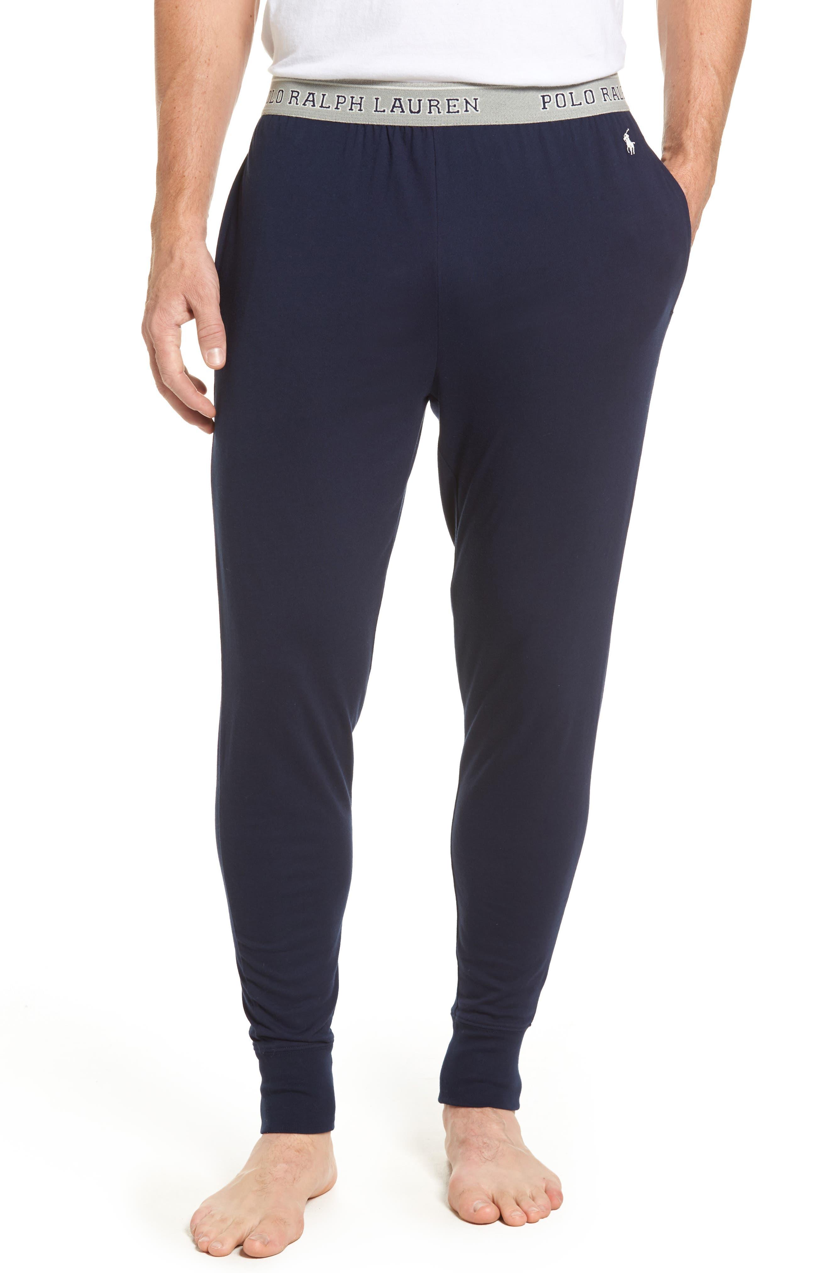 Cotton Jogger Lounge Pants,                             Main thumbnail 2, color,