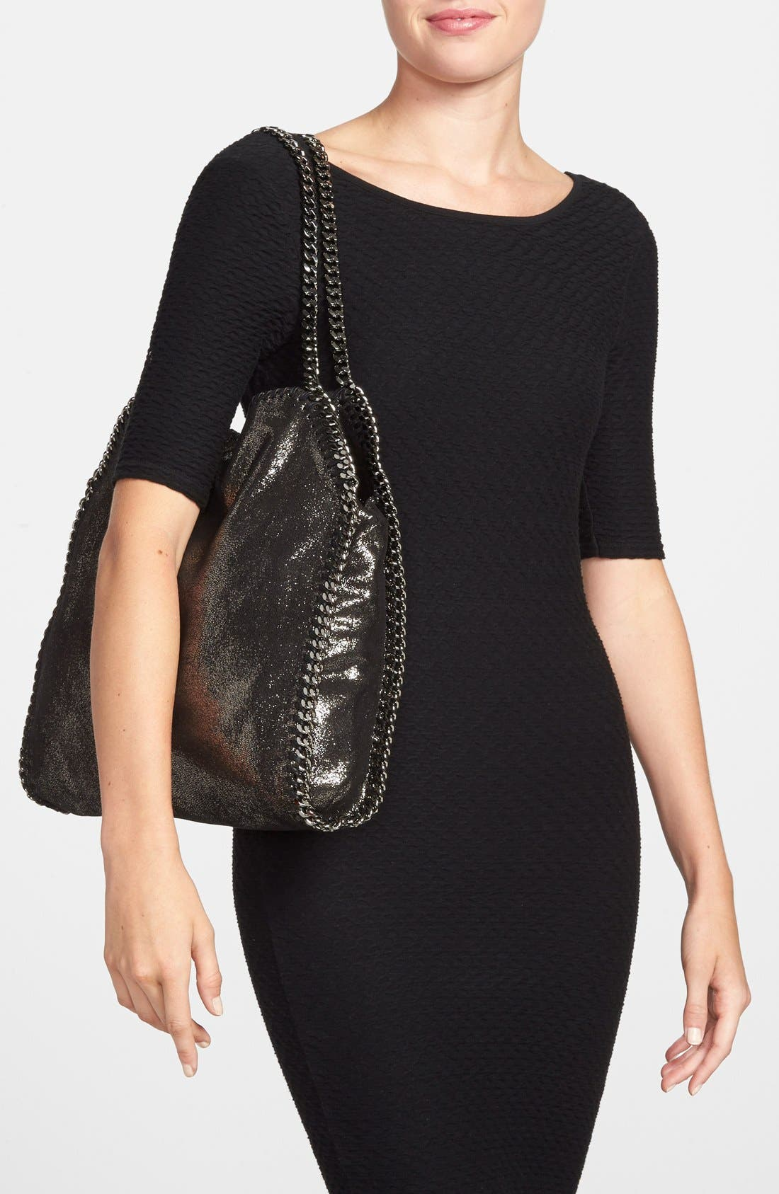 'Small Falabella' Faux Leather Tote,                             Alternate thumbnail 2, color,                             711