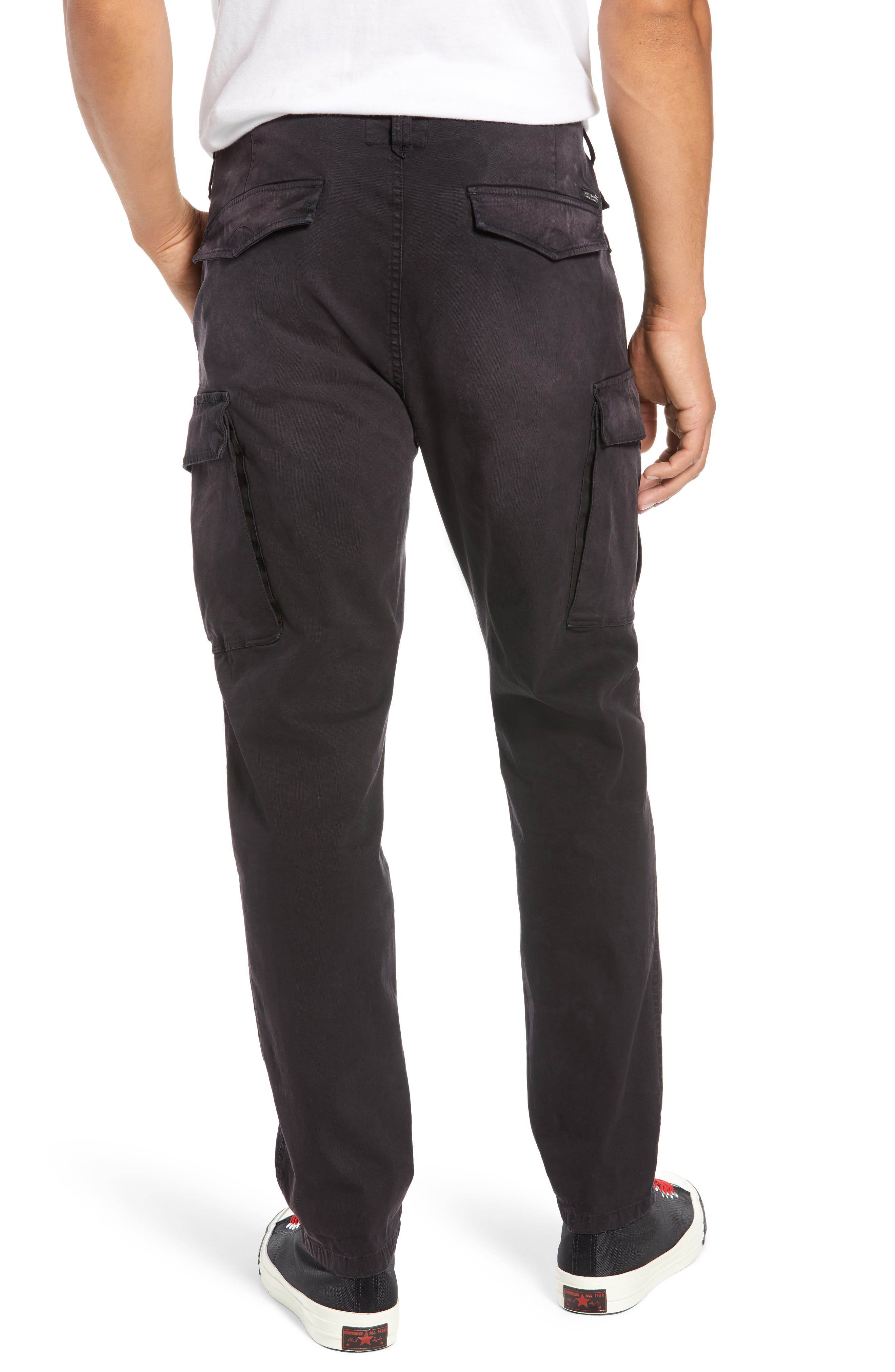 Loose Taper Fit Washed Cargo Pants,                             Alternate thumbnail 2, color,                             ANTRA