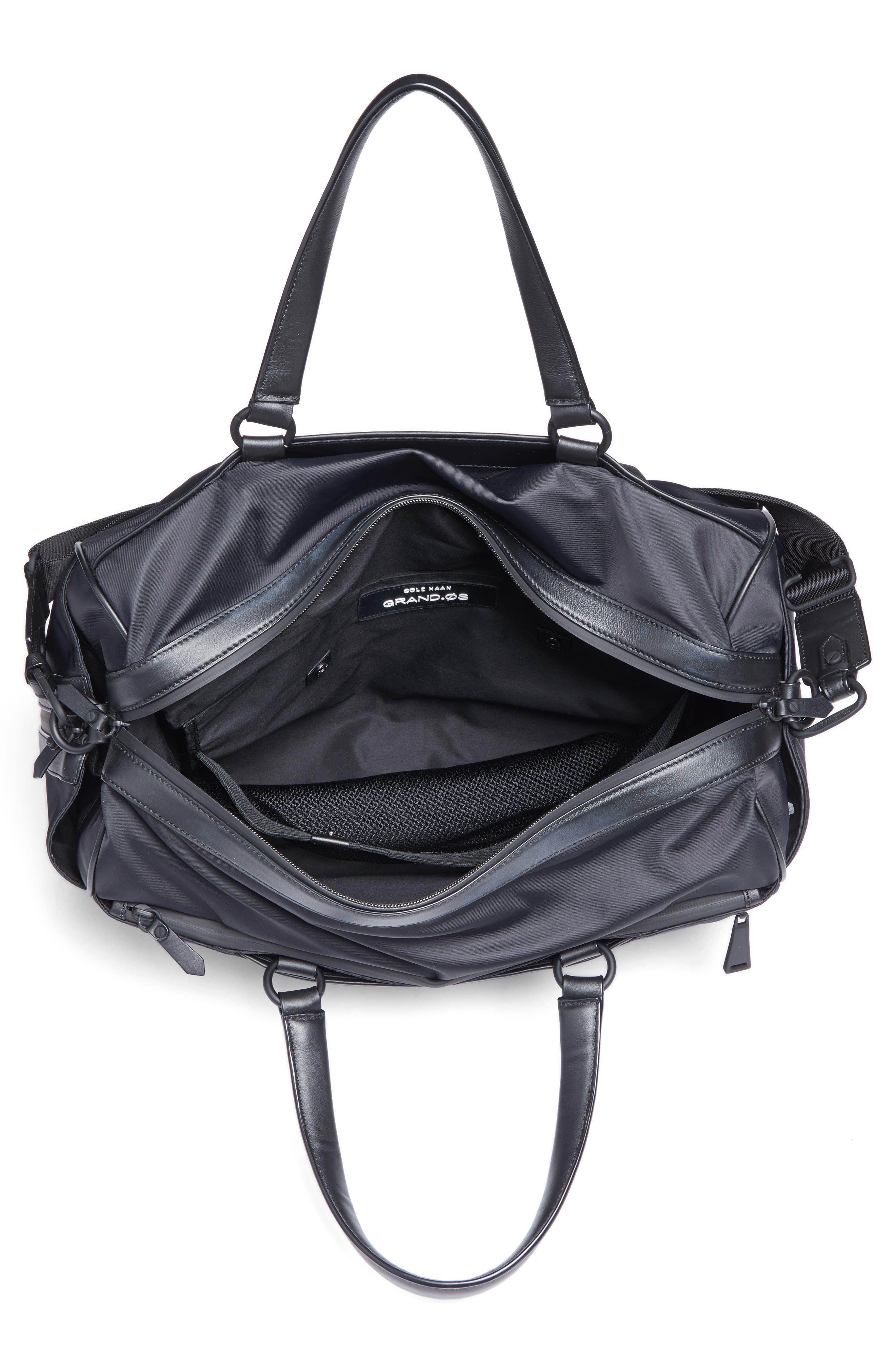 Grand Duffel Bag,                             Alternate thumbnail 4, color,                             001