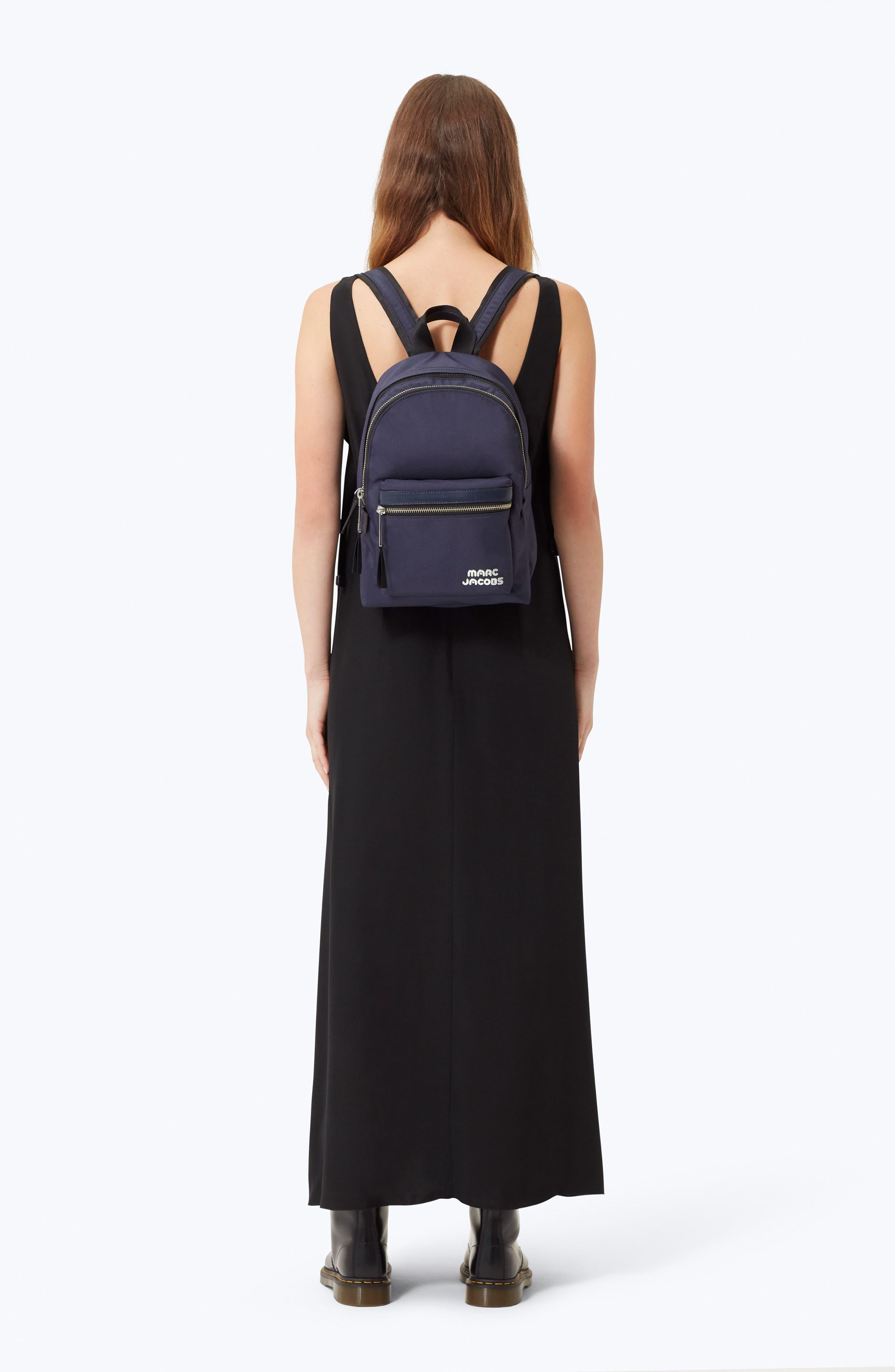 Medium Trek Nylon Backpack,                             Alternate thumbnail 2, color,                             MIDNIGHT BLUE