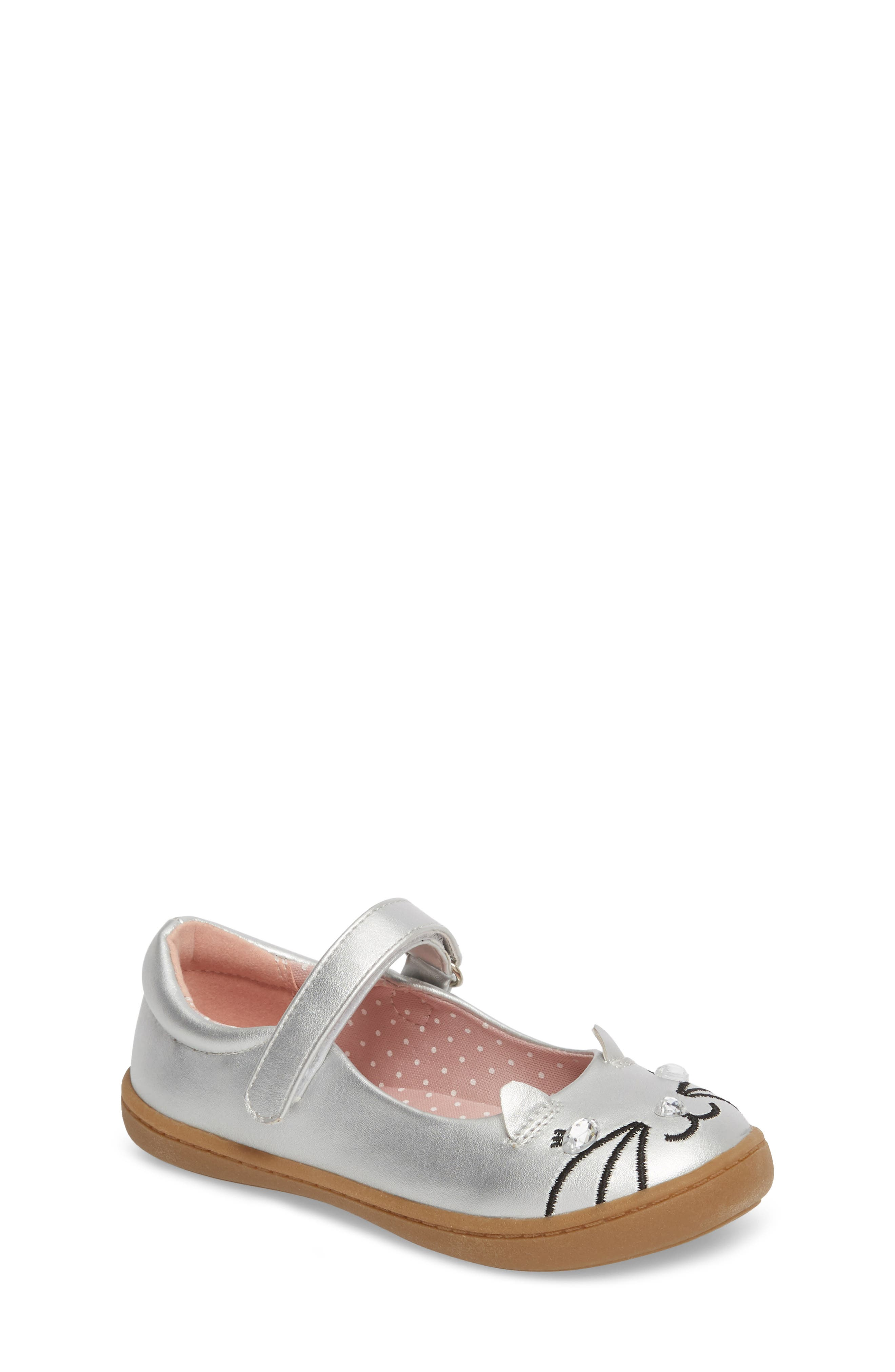 Matilda Critter Mary Jane Flat,                         Main,                         color, 040