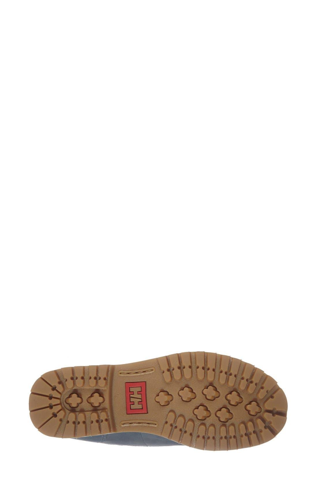 'Vega' Waterproof Leather Boot,                             Alternate thumbnail 4, color,                             400