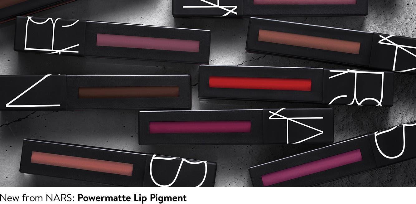 New from Nars: Powermatte Lip Pigment