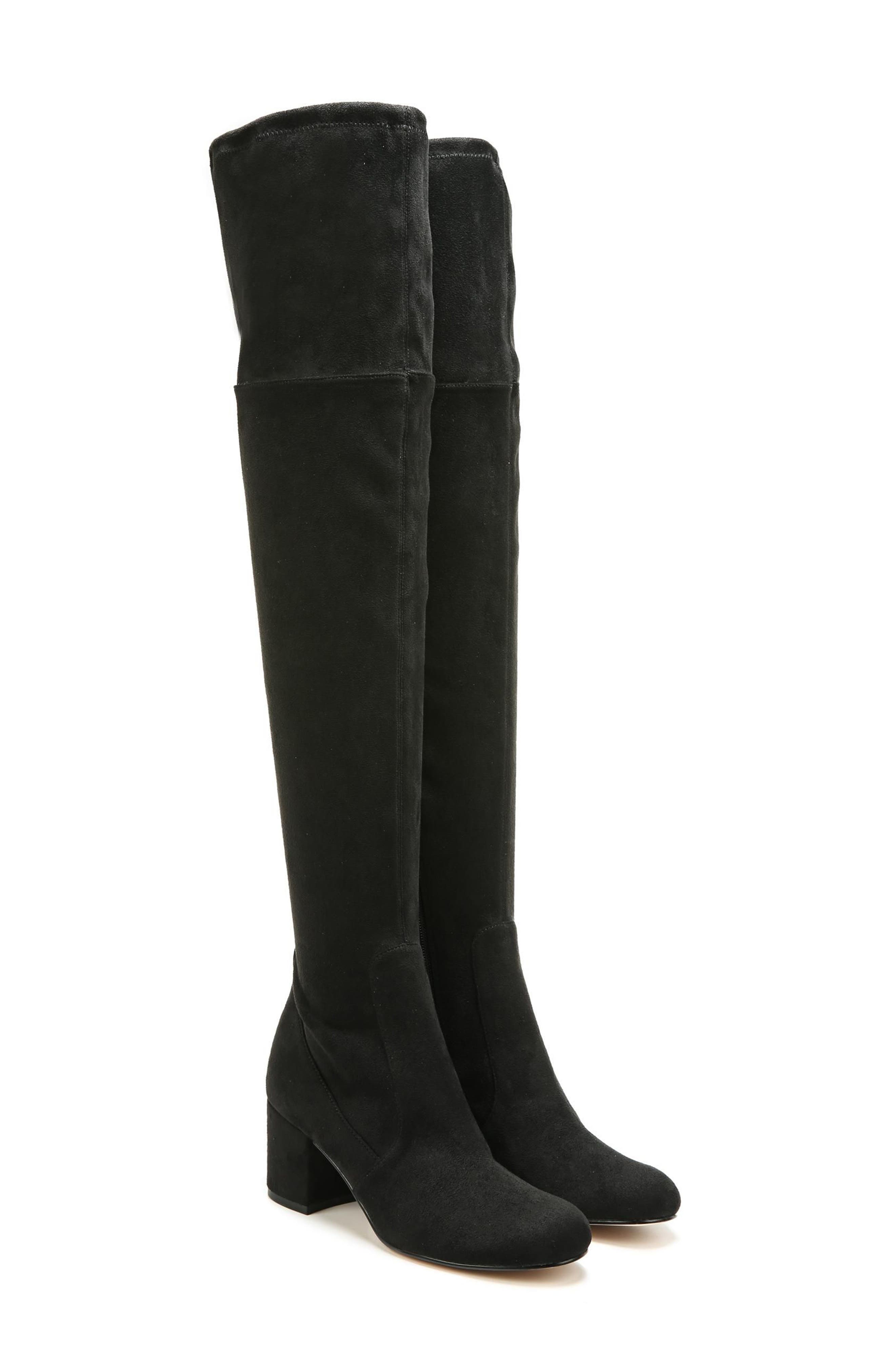 Varona Over the Knee Boot,                             Alternate thumbnail 8, color,                             001
