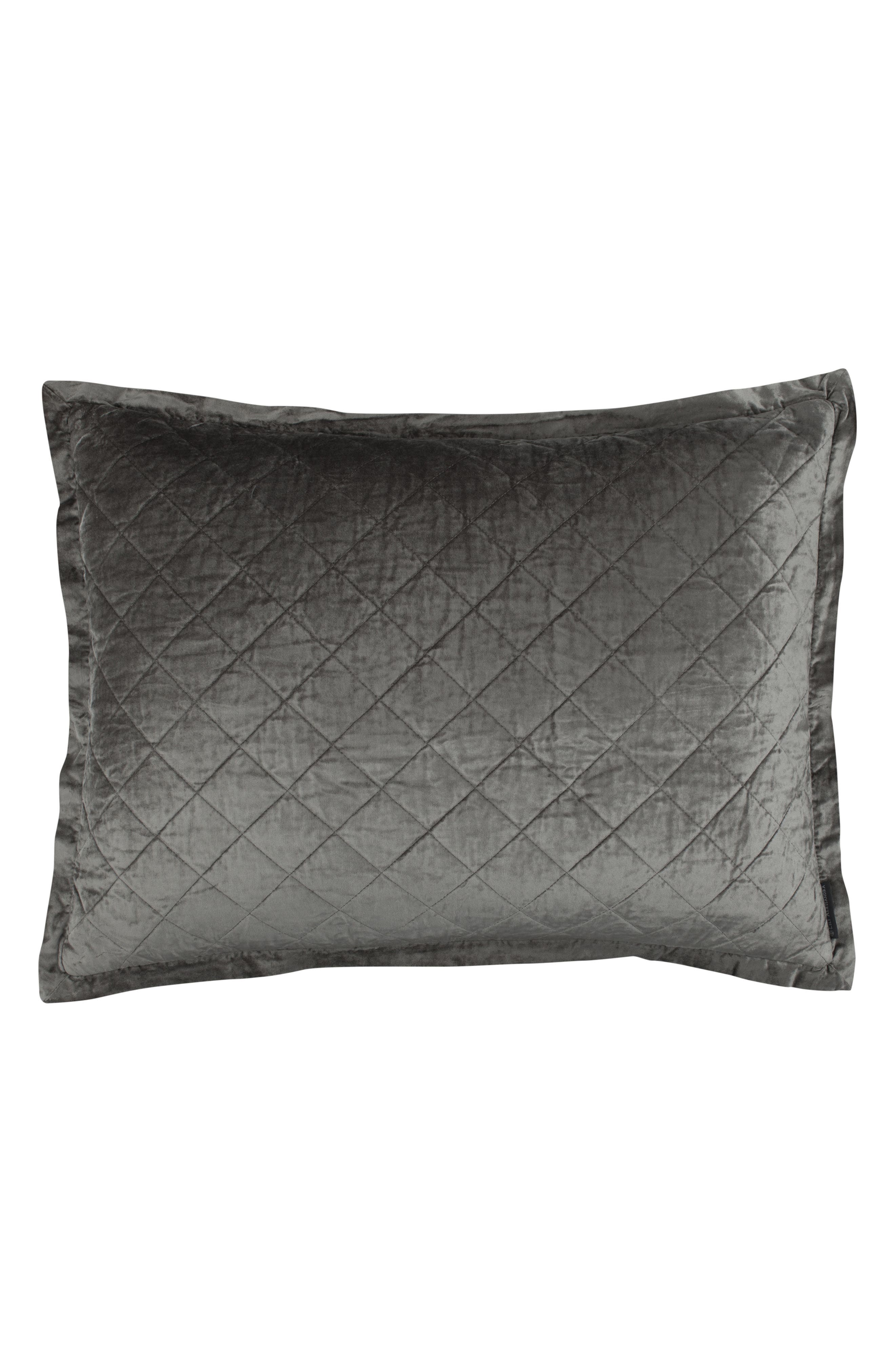 Chloe Quilted Sham,                             Main thumbnail 1, color,                             020