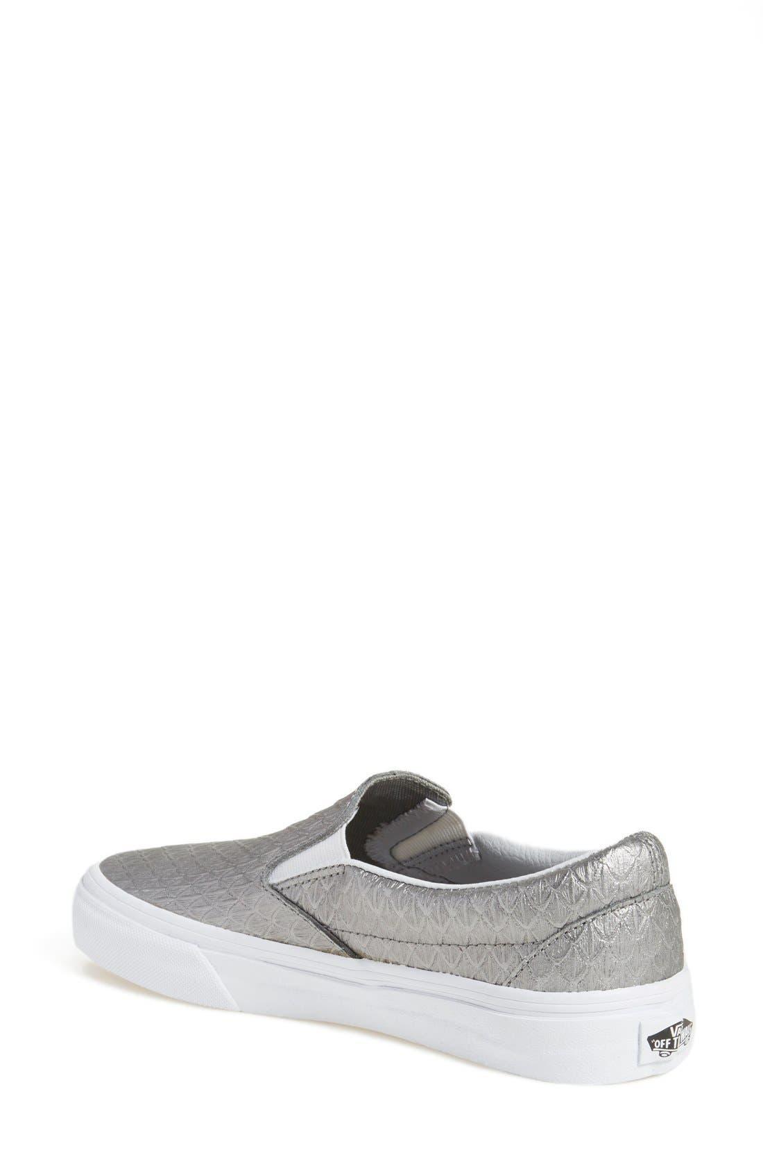 Classic Slip-On Sneaker,                             Alternate thumbnail 320, color,