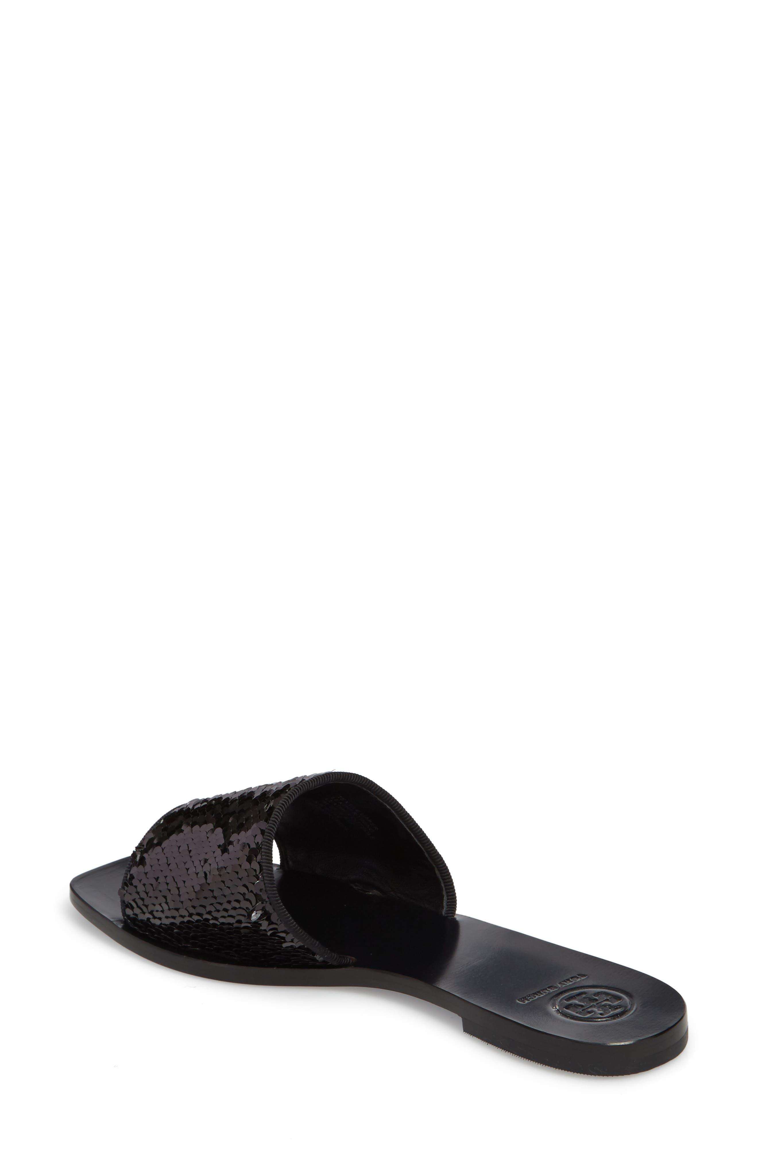 Carter Sequin Slide Sandal,                             Alternate thumbnail 2, color,                             043