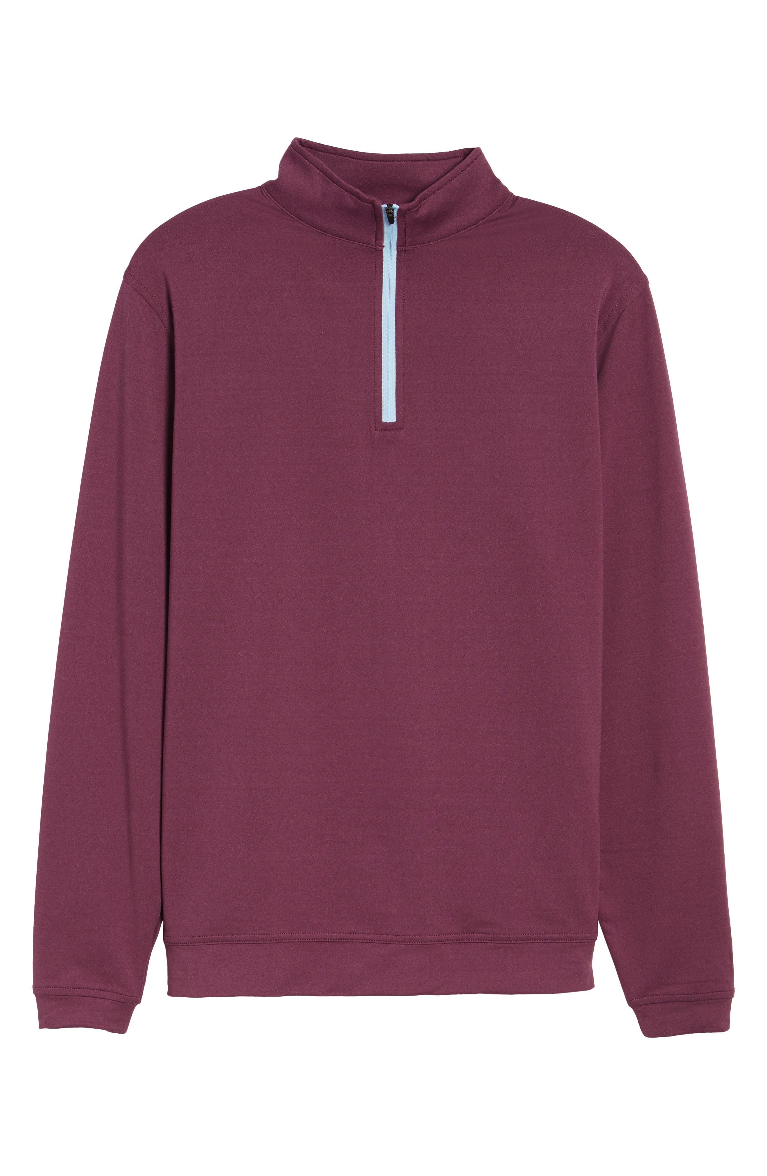 Perth Quarter Zip Stretch Pullover,                             Alternate thumbnail 30, color,
