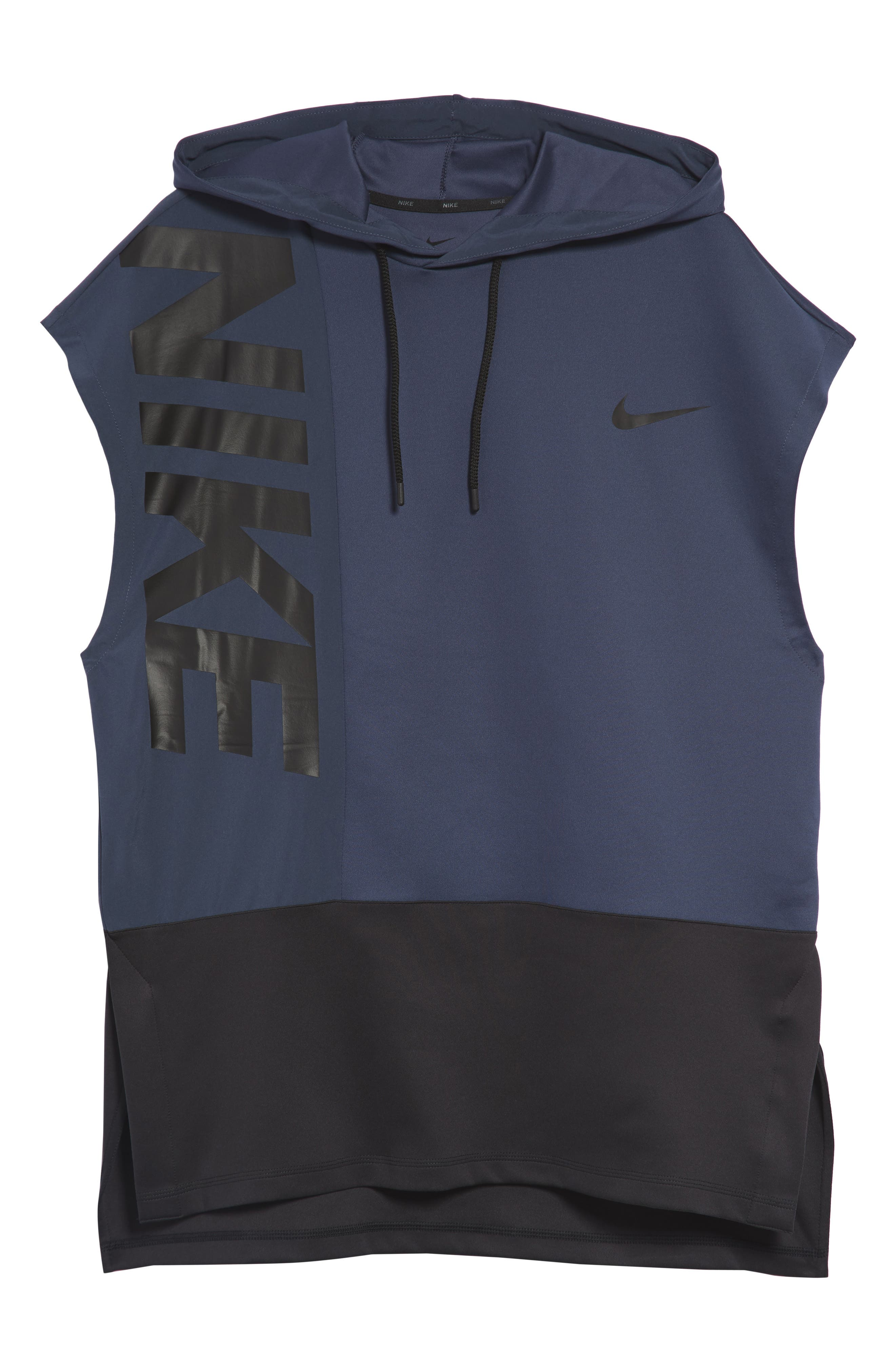 Dry Hooded Tank,                             Alternate thumbnail 6, color,                             THUNDER BLUE/ BLACK/ BLACK