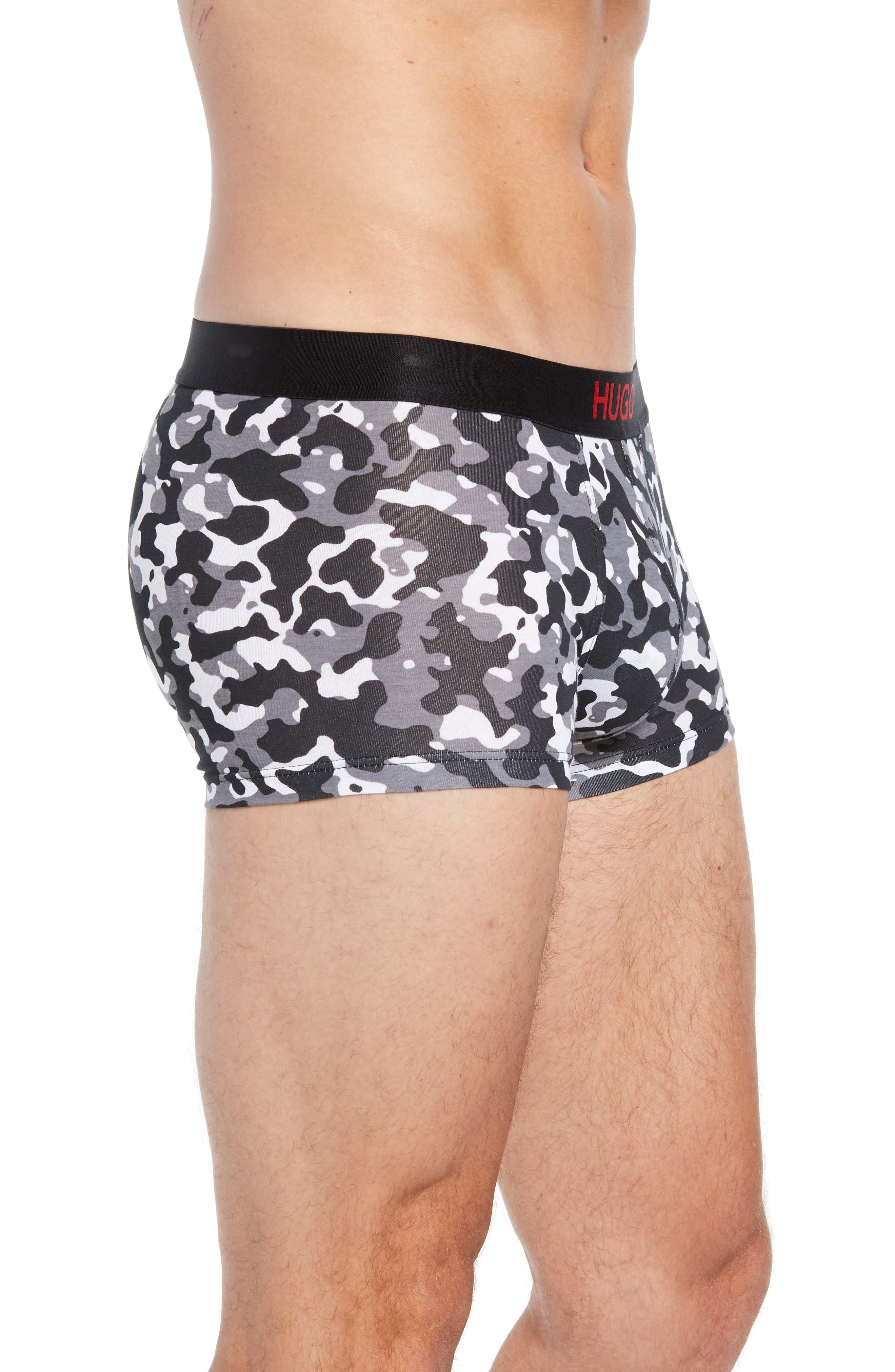 Excite Camo Trunks,                             Alternate thumbnail 3, color,                             GREY