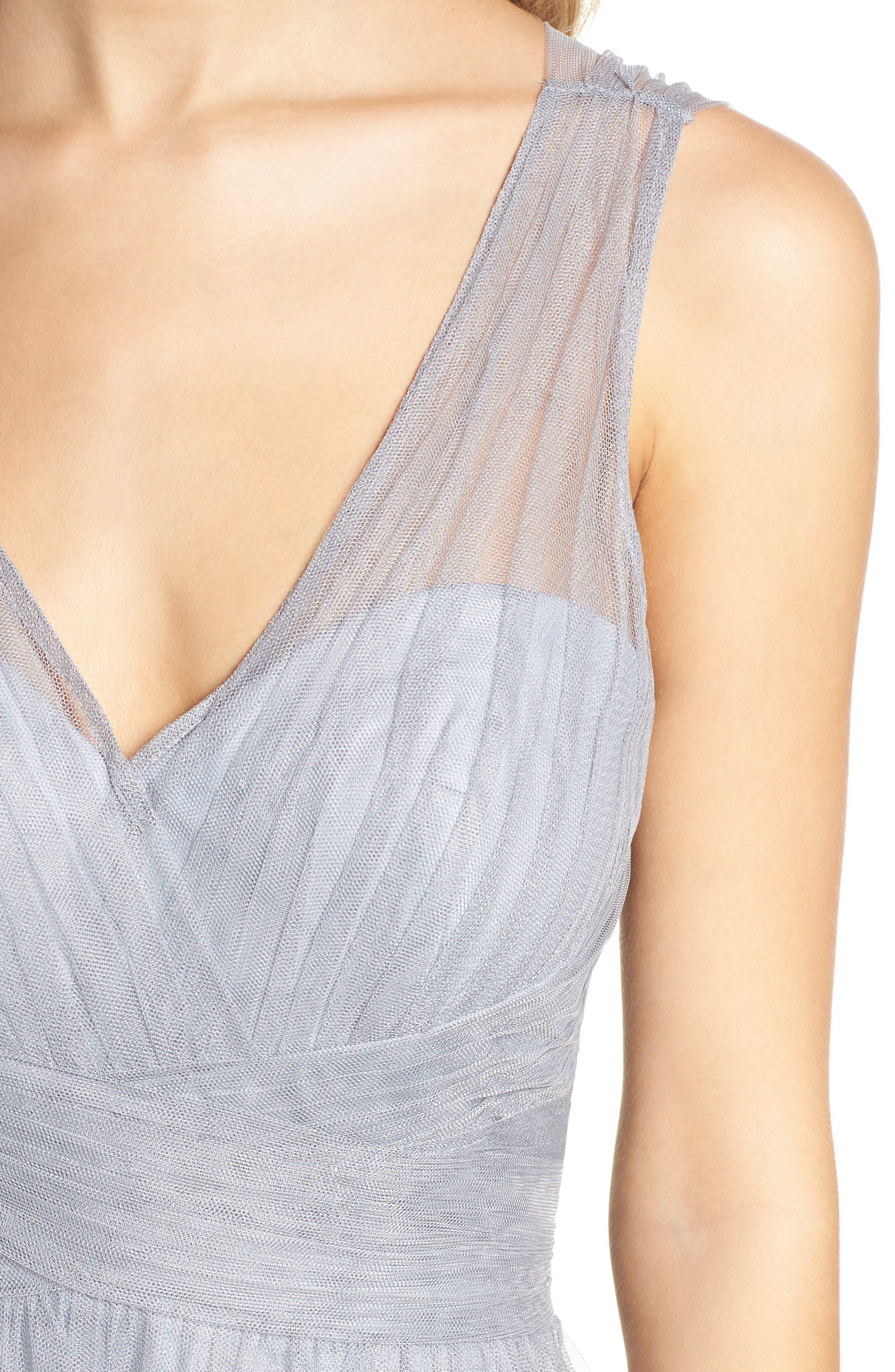 Illusion Gown,                             Alternate thumbnail 4, color,                             020