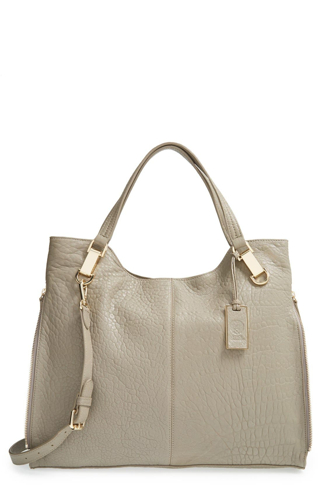 'Riley' Leather Tote,                             Main thumbnail 6, color,