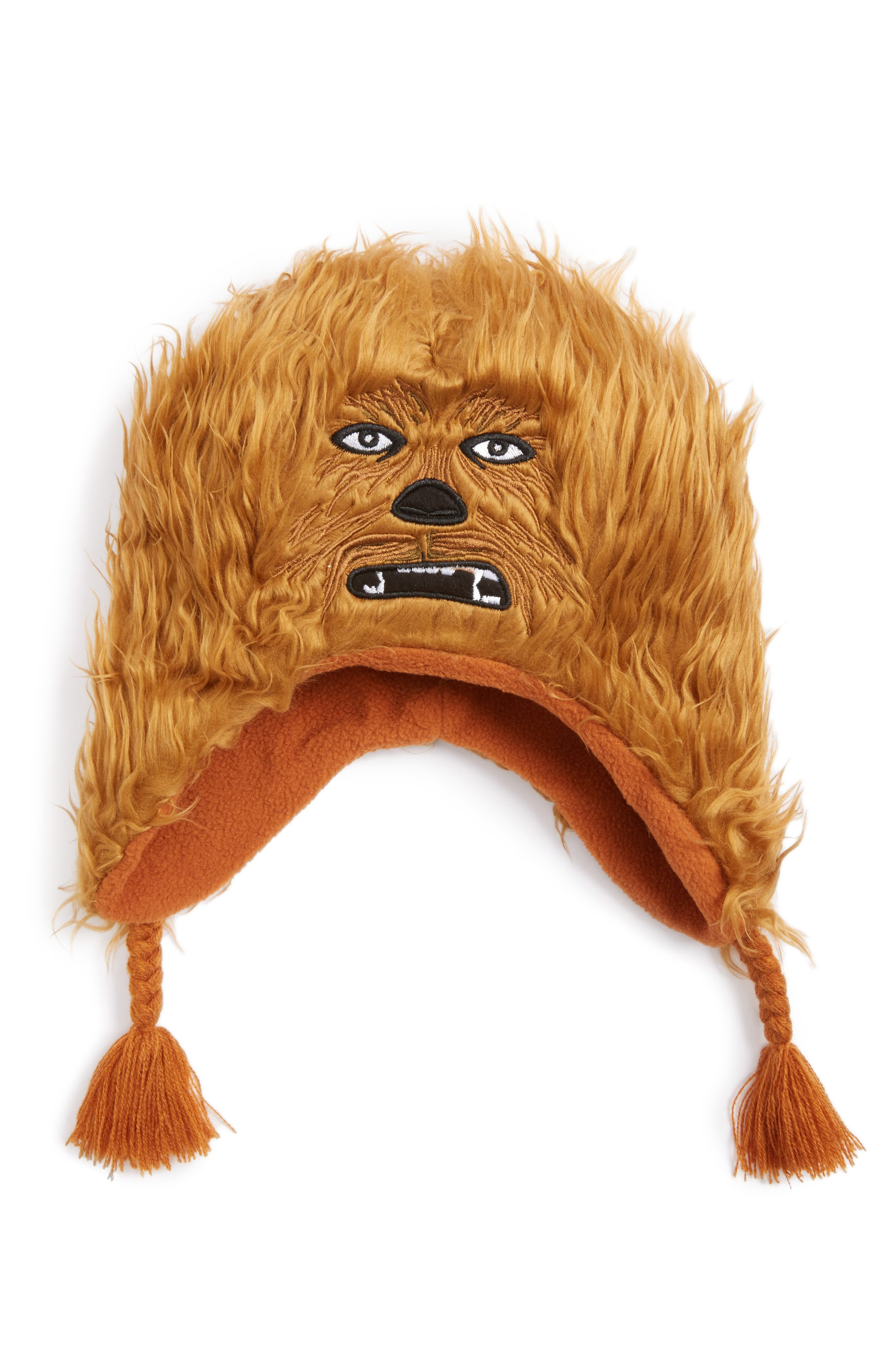 NOLAN GLOVE,                             Star Wars<sup>™</sup> Chewbacca Hat,                             Alternate thumbnail 2, color,                             200