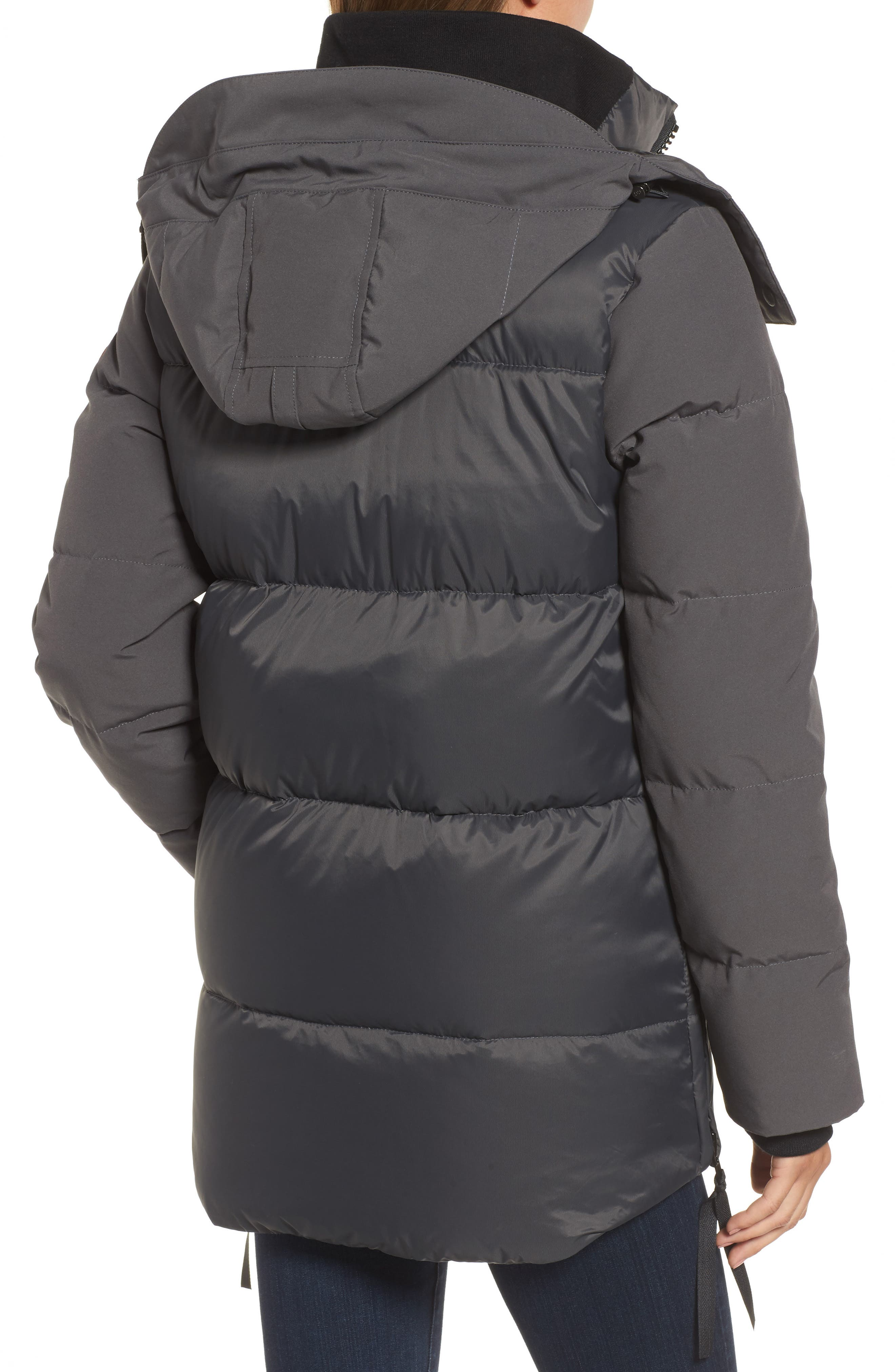 Whitehorse Hooded Water Resistant 675-Fill-Power Down Parka,                             Alternate thumbnail 6, color,
