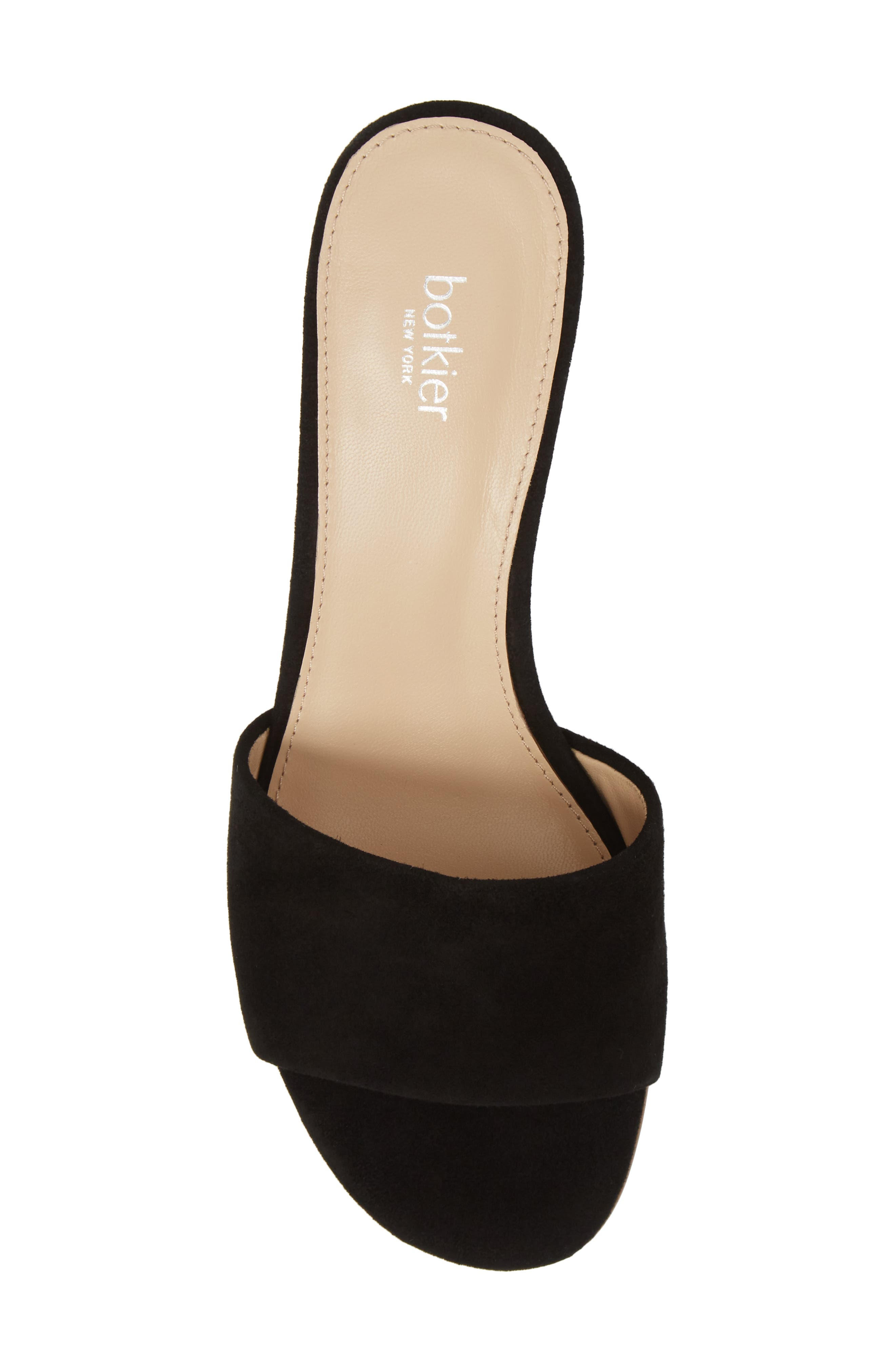Carlie Mule,                             Alternate thumbnail 5, color,                             BLACK SUEDE