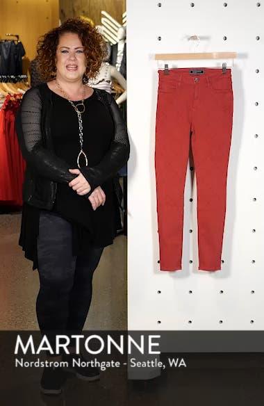 Rolling Old Reina Lattice Stitch Skinny Jeans, sales video thumbnail
