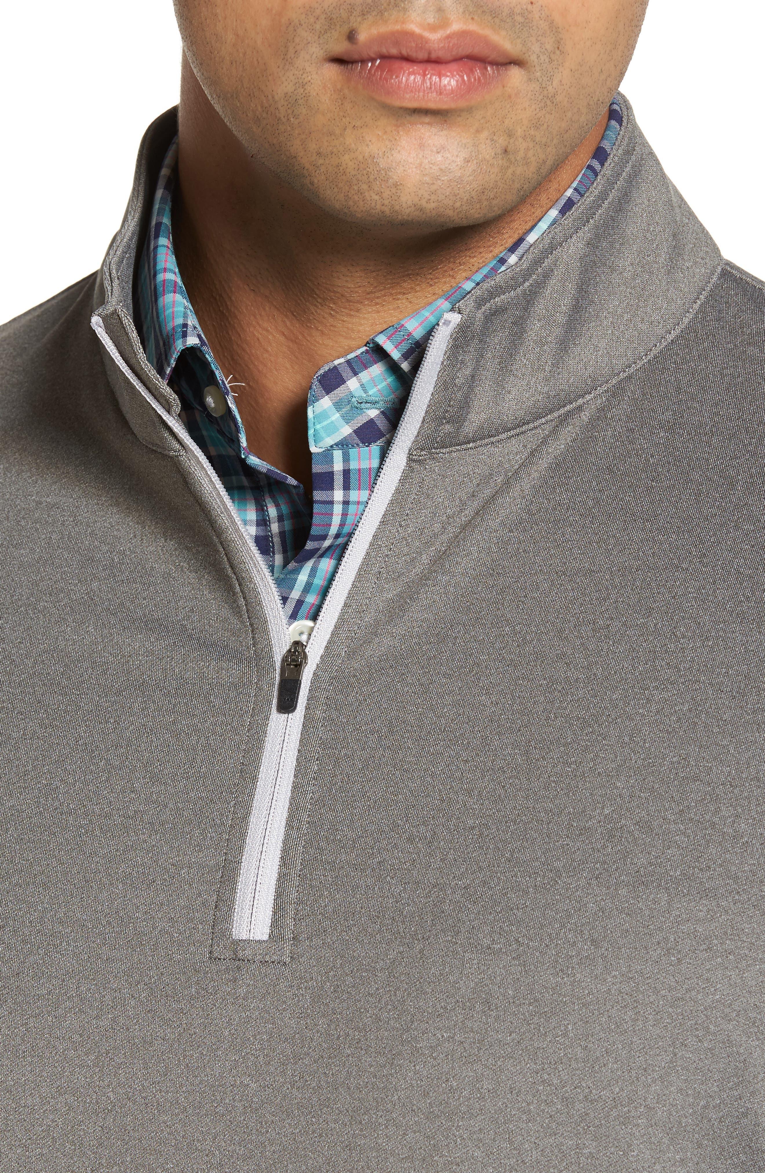Perth Quarter Zip Stretch Pullover,                             Alternate thumbnail 16, color,