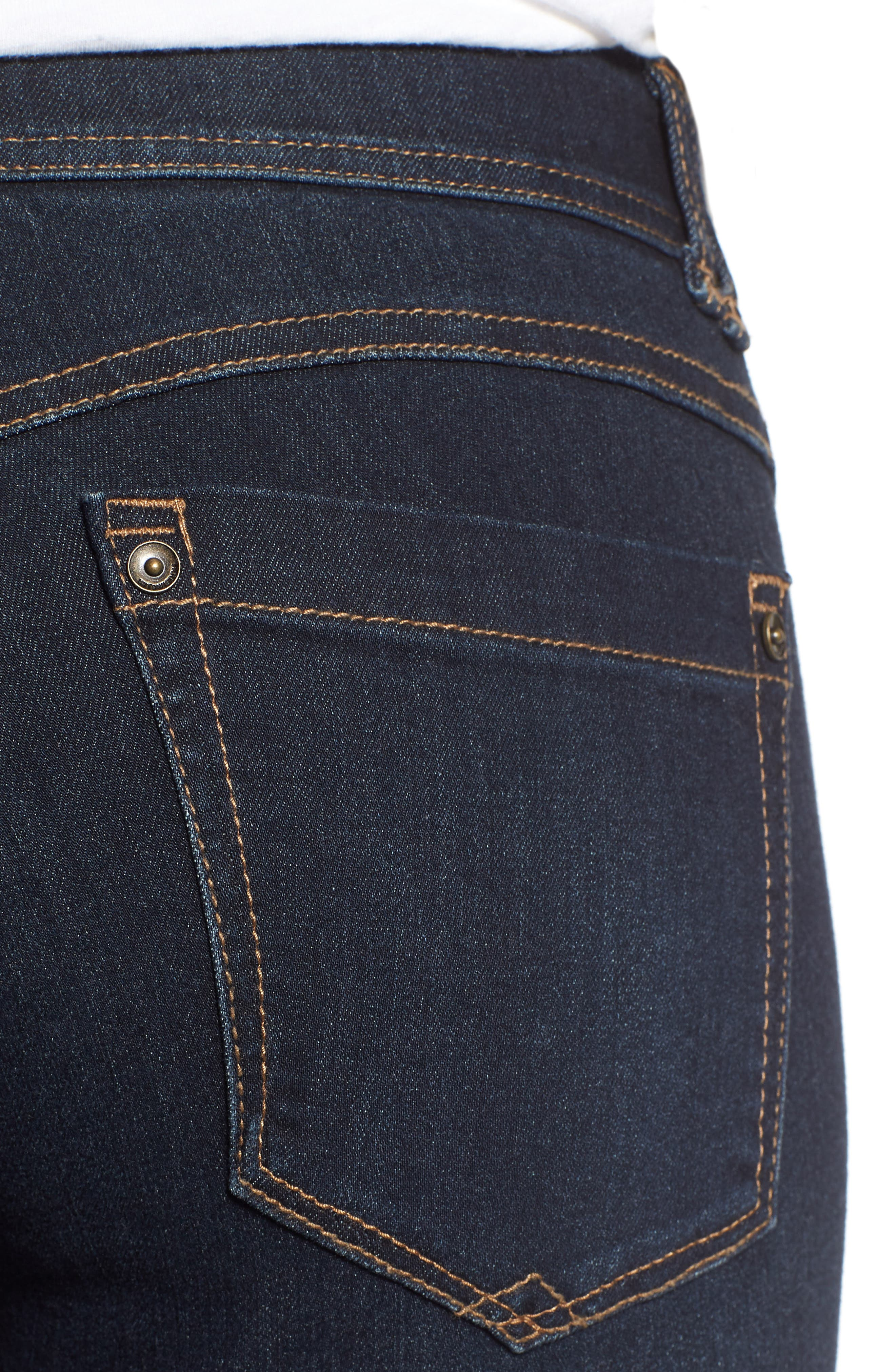 Ab-solution Itty Bitty Bootcut Jeans,                             Alternate thumbnail 4, color,                             IN-INDIGO