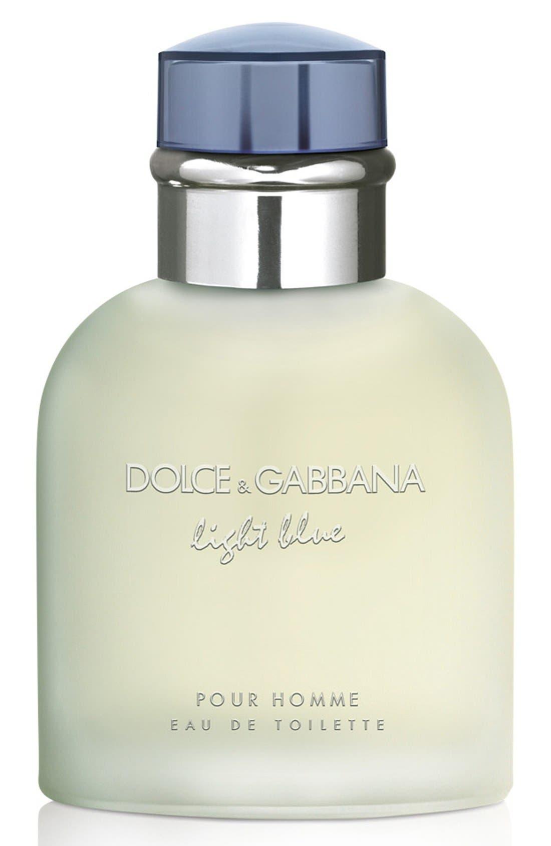 Dolce&Gabbana Light Blue pour Homme Eau de Toilette,                             Main thumbnail 1, color,                             NO COLOR