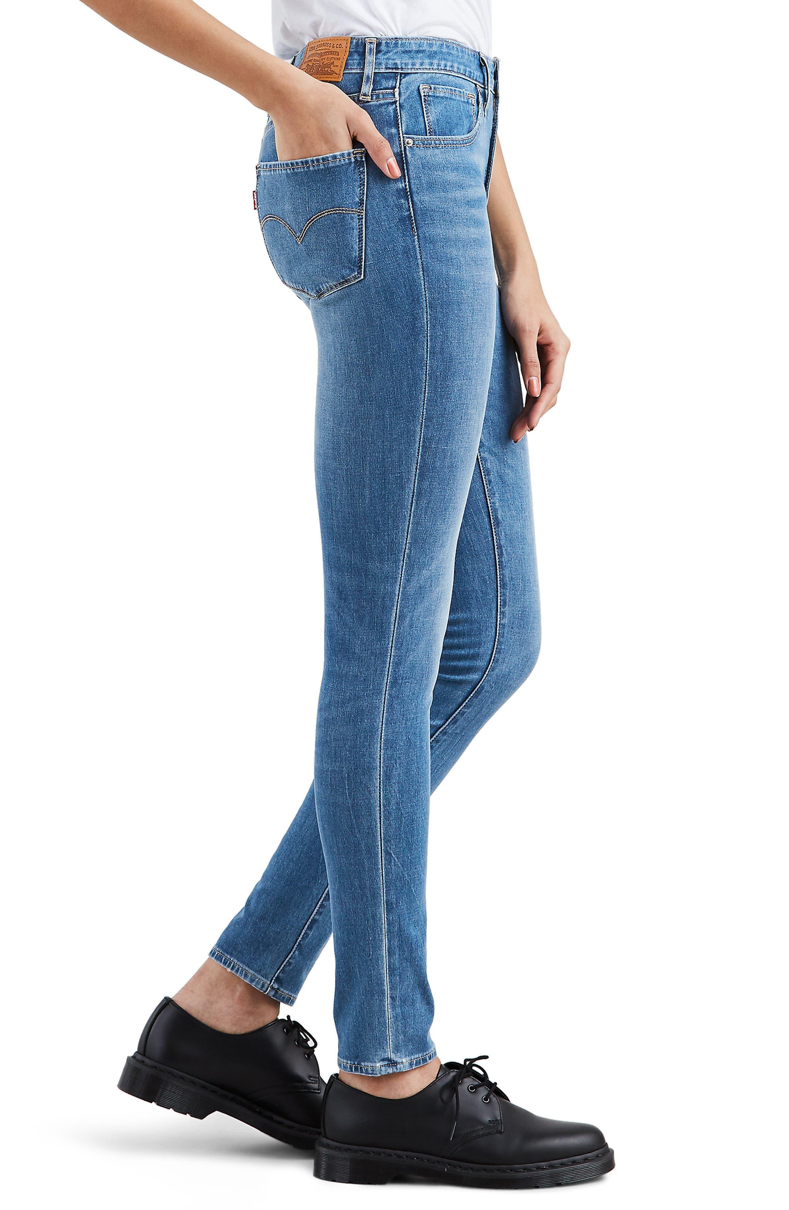 LEVI'S<SUP>®</SUP>,                             721<sup>™</sup> High Waist Skinny Jeans,                             Alternate thumbnail 4, color,                             L.O.L.