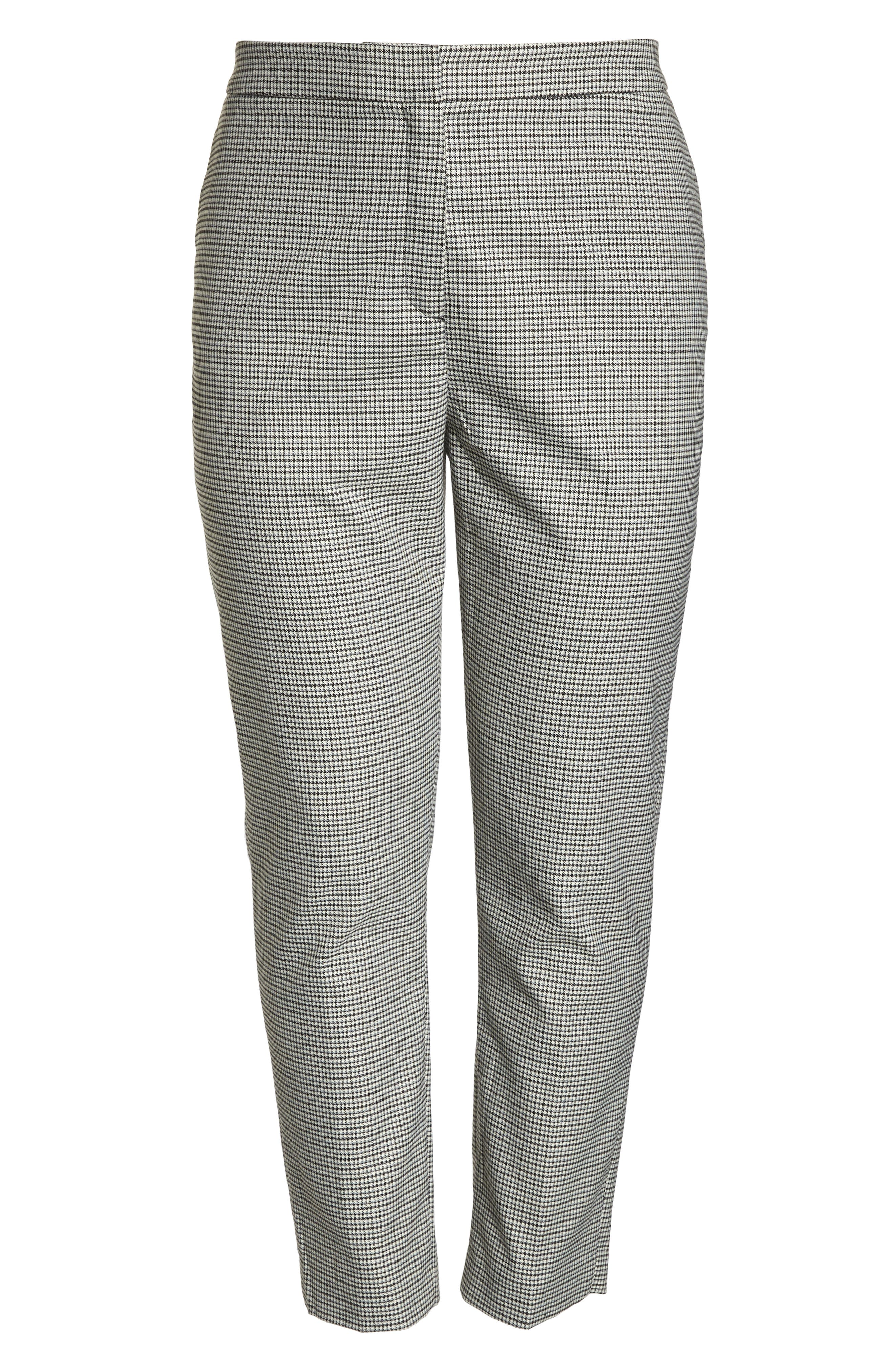 HALOGEN<SUP>®</SUP>,                             High Rise Skinny Ankle Pants,                             Alternate thumbnail 13, color,                             001