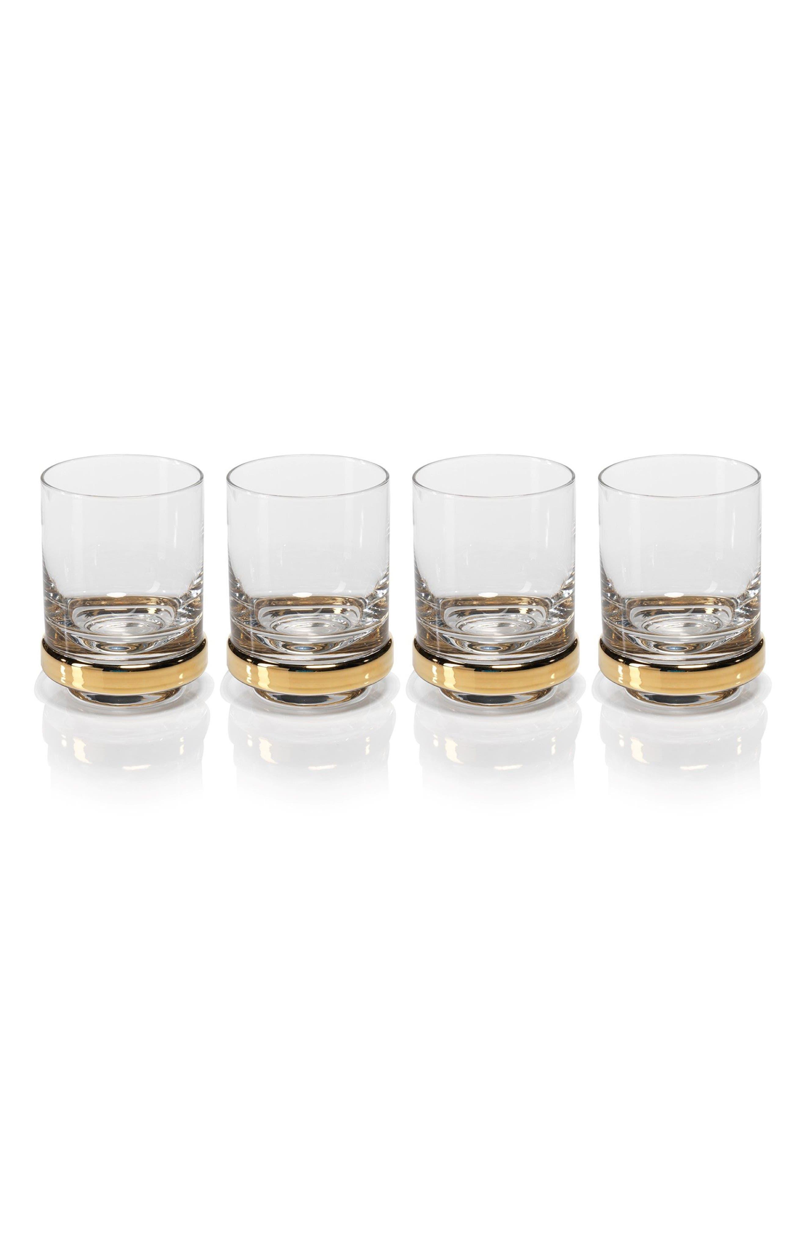 Artu Set of 4 Double Old Fashioned Glasses,                             Main thumbnail 1, color,                             710