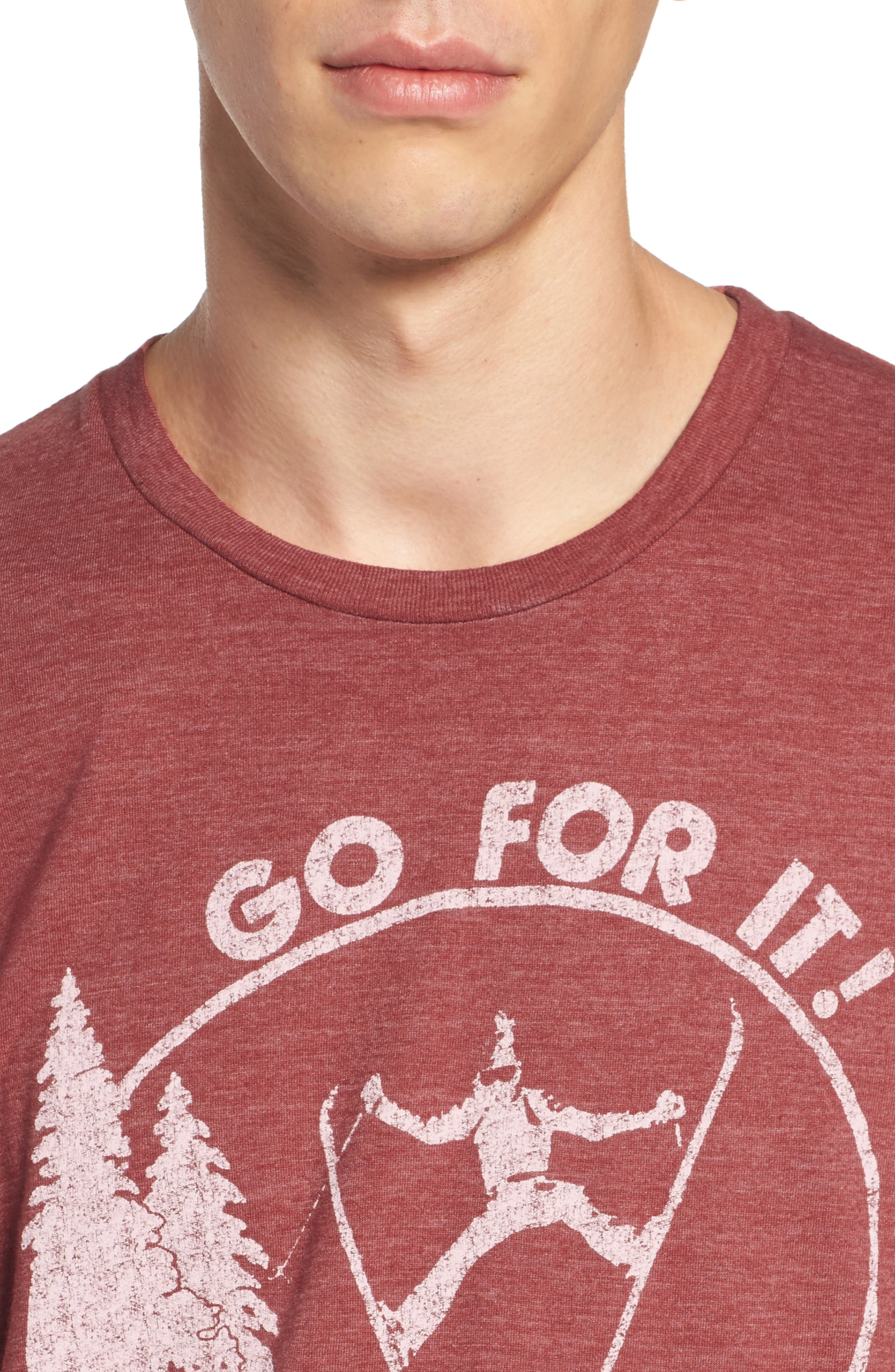 Go for It Graphic T-Shirt,                             Alternate thumbnail 4, color,                             610